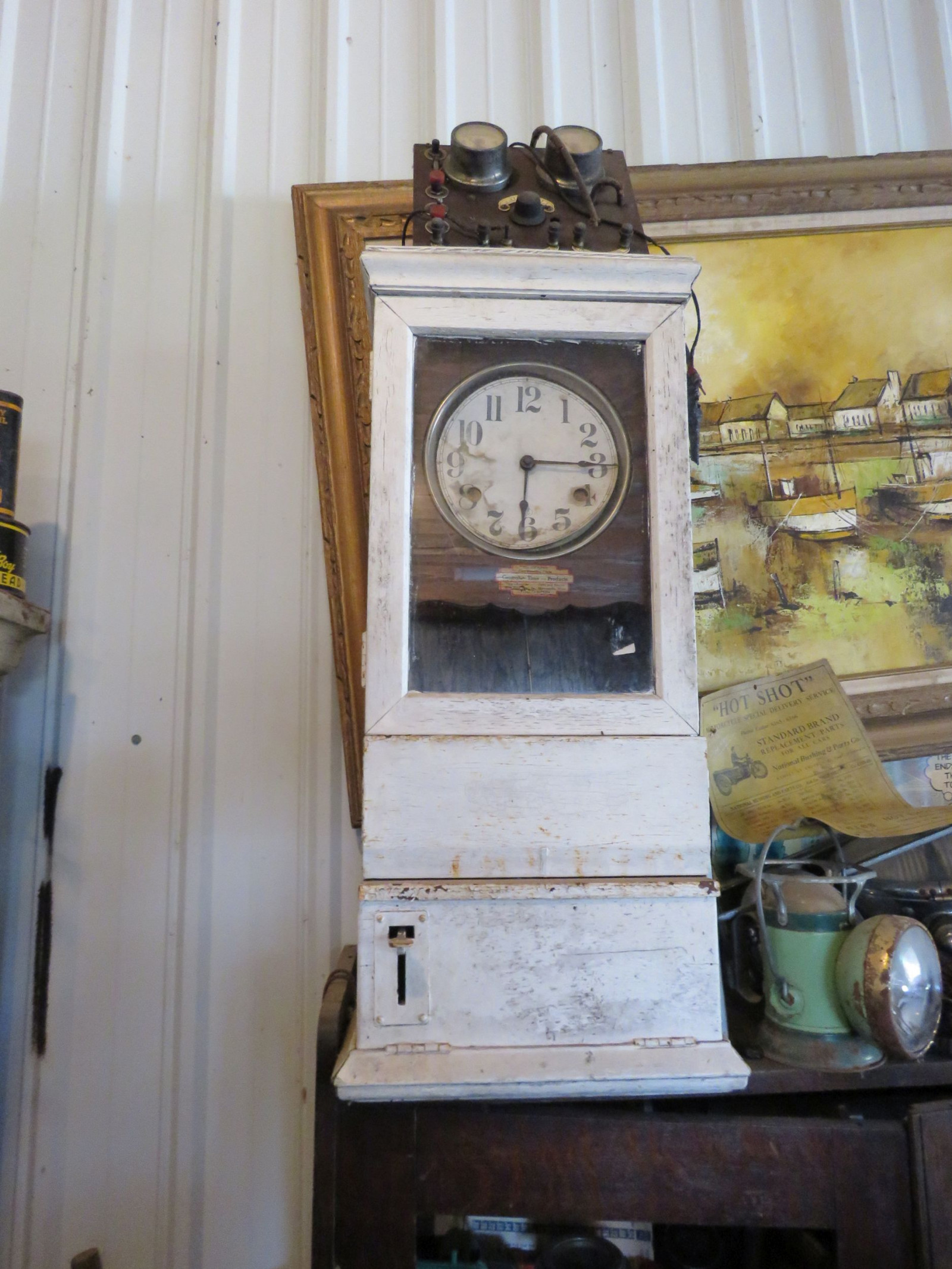 Vintage Time Clock - Image 1