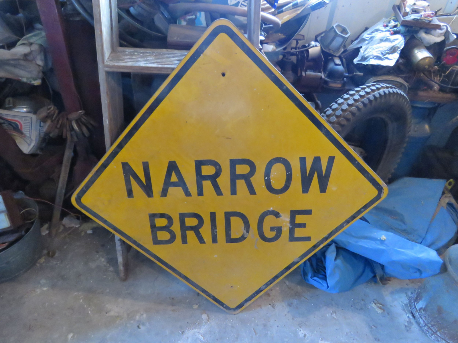 Large Single Sided  narrow Bridge sign - Image 1