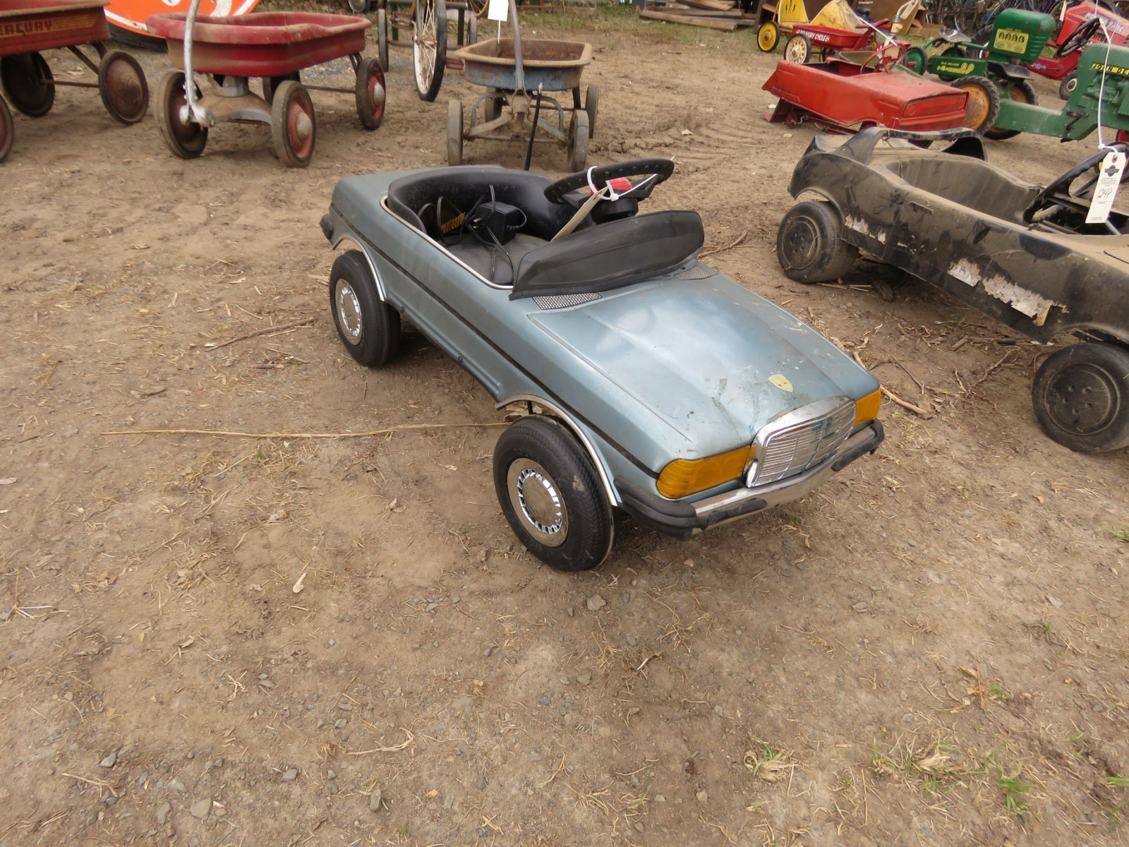 Mercedes Pedal Car - Image 1