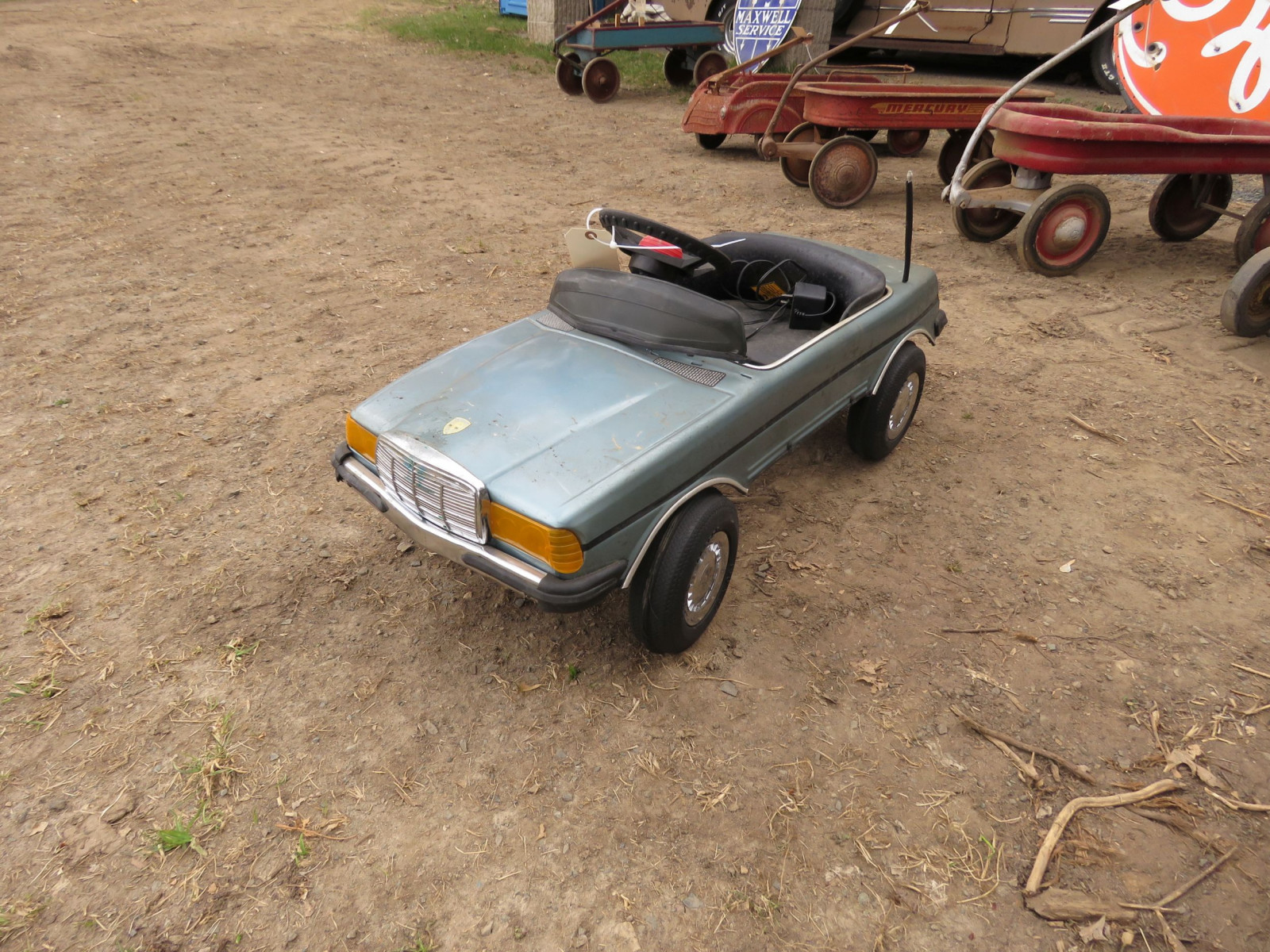 Mercedes Pedal Car - Image 2