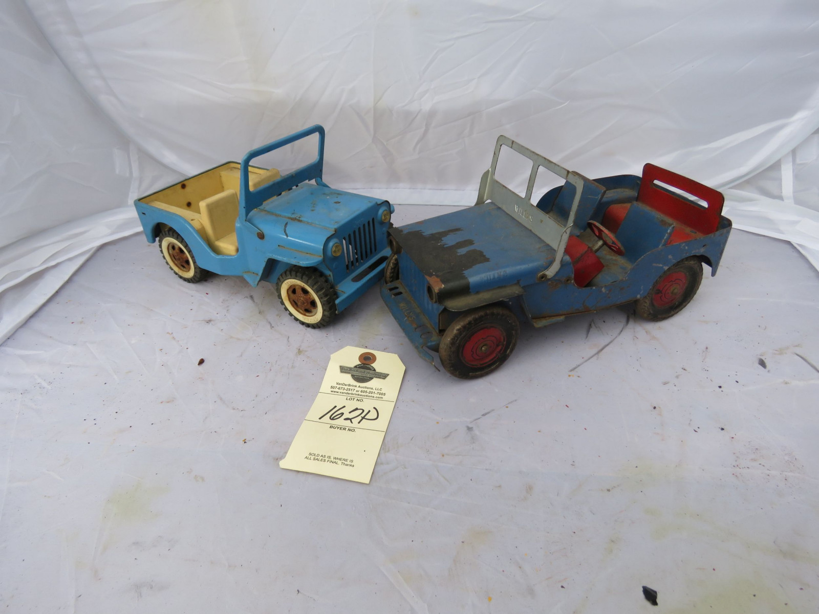 Tin Tonka and other Toy Jeep - Image 1