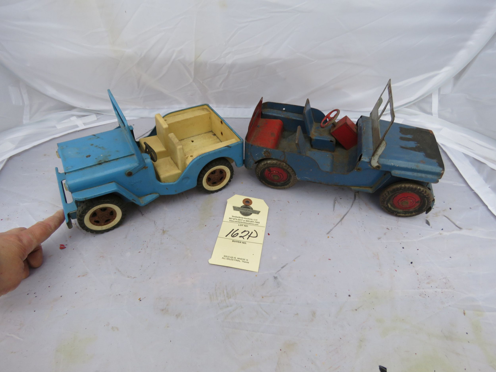 Tin Tonka and other Toy Jeep - Image 2