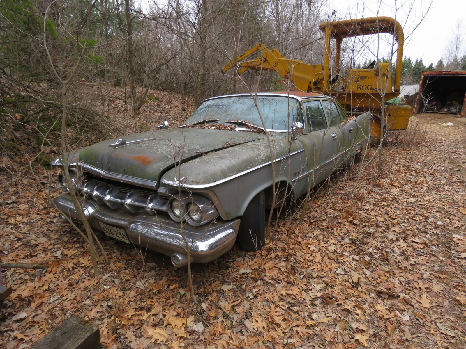 1950's Imperial 4dr Sedan for Project or Parts - Image 1