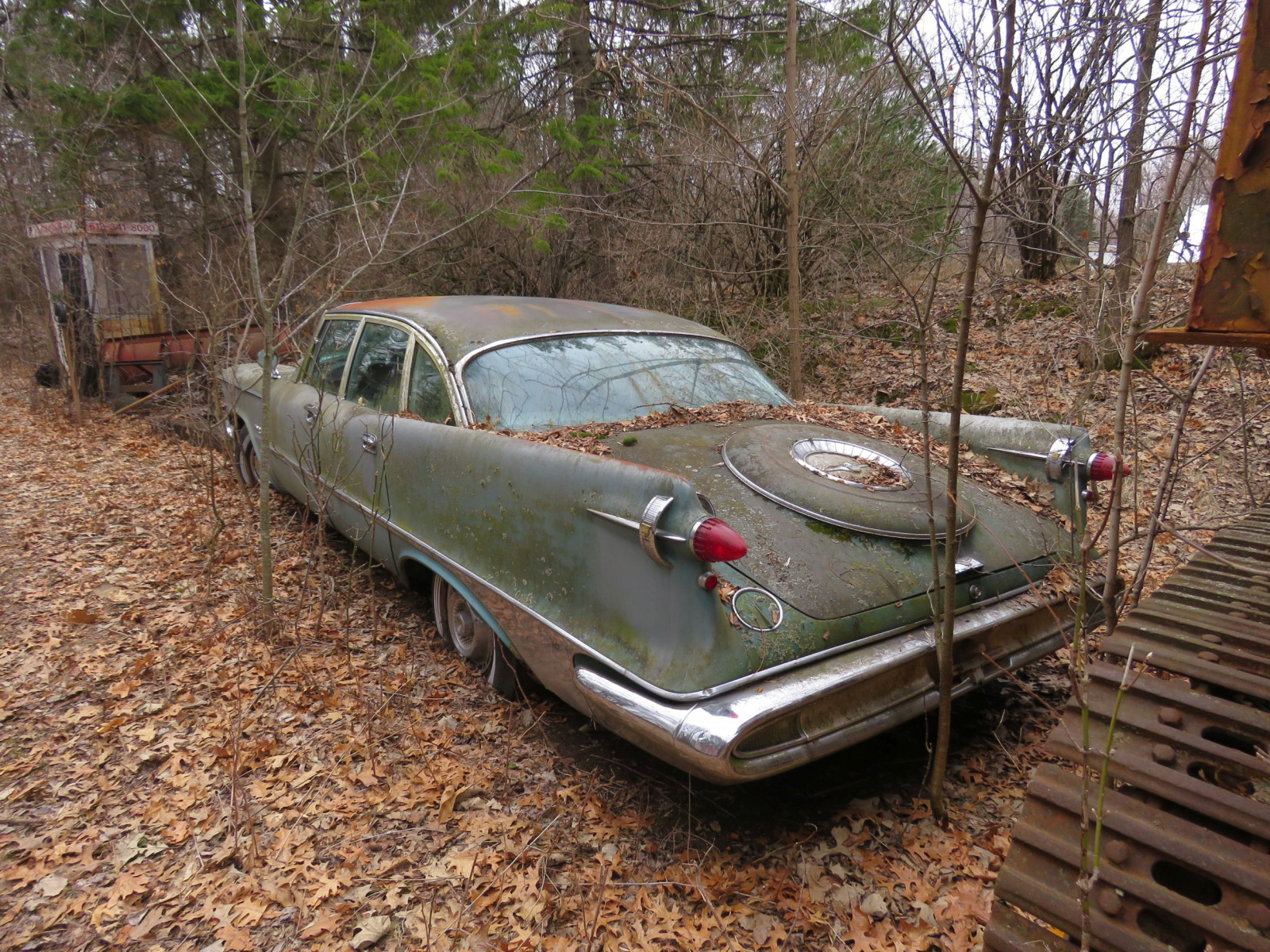 1950's Imperial 4dr Sedan for Project or Parts - Image 8
