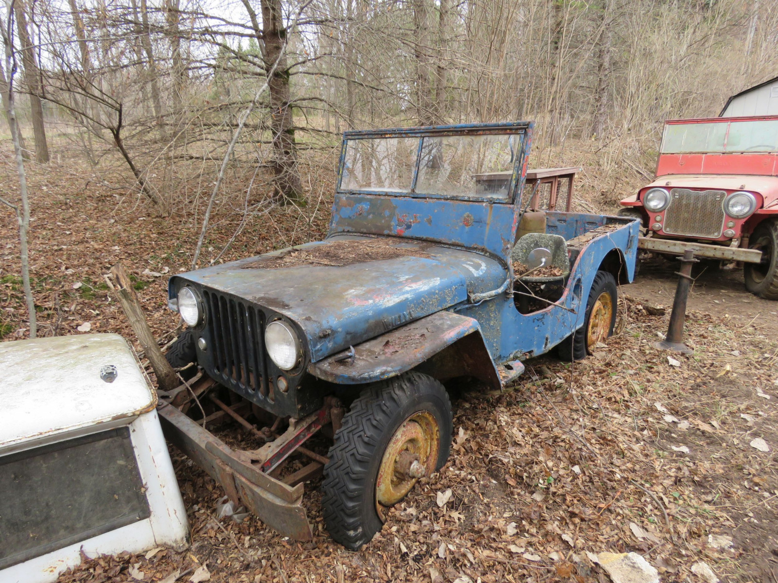 Willys CJ3A Jeep for Project or Parts - Image 1