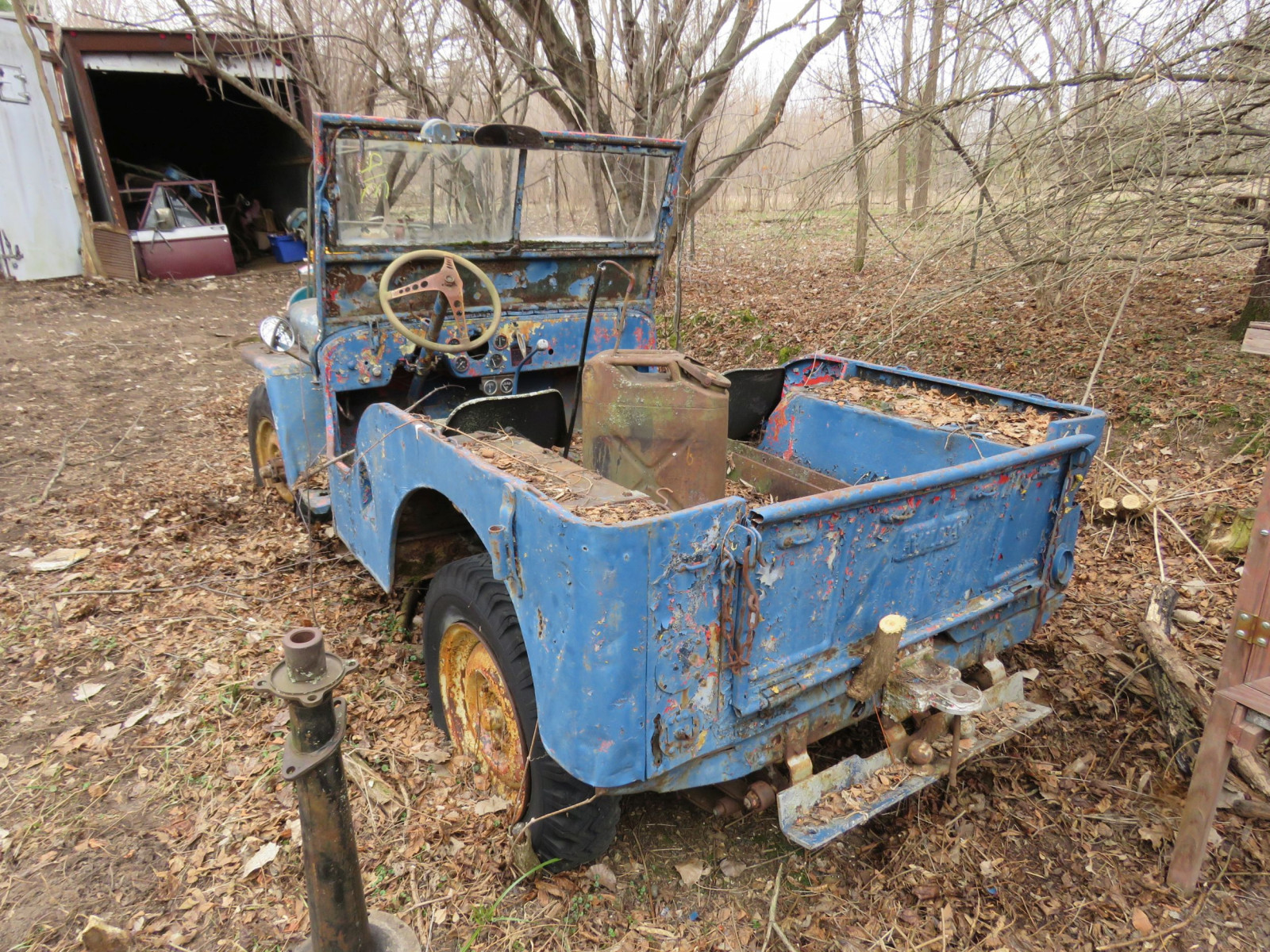 Willys CJ3A Jeep for Project or Parts - Image 5