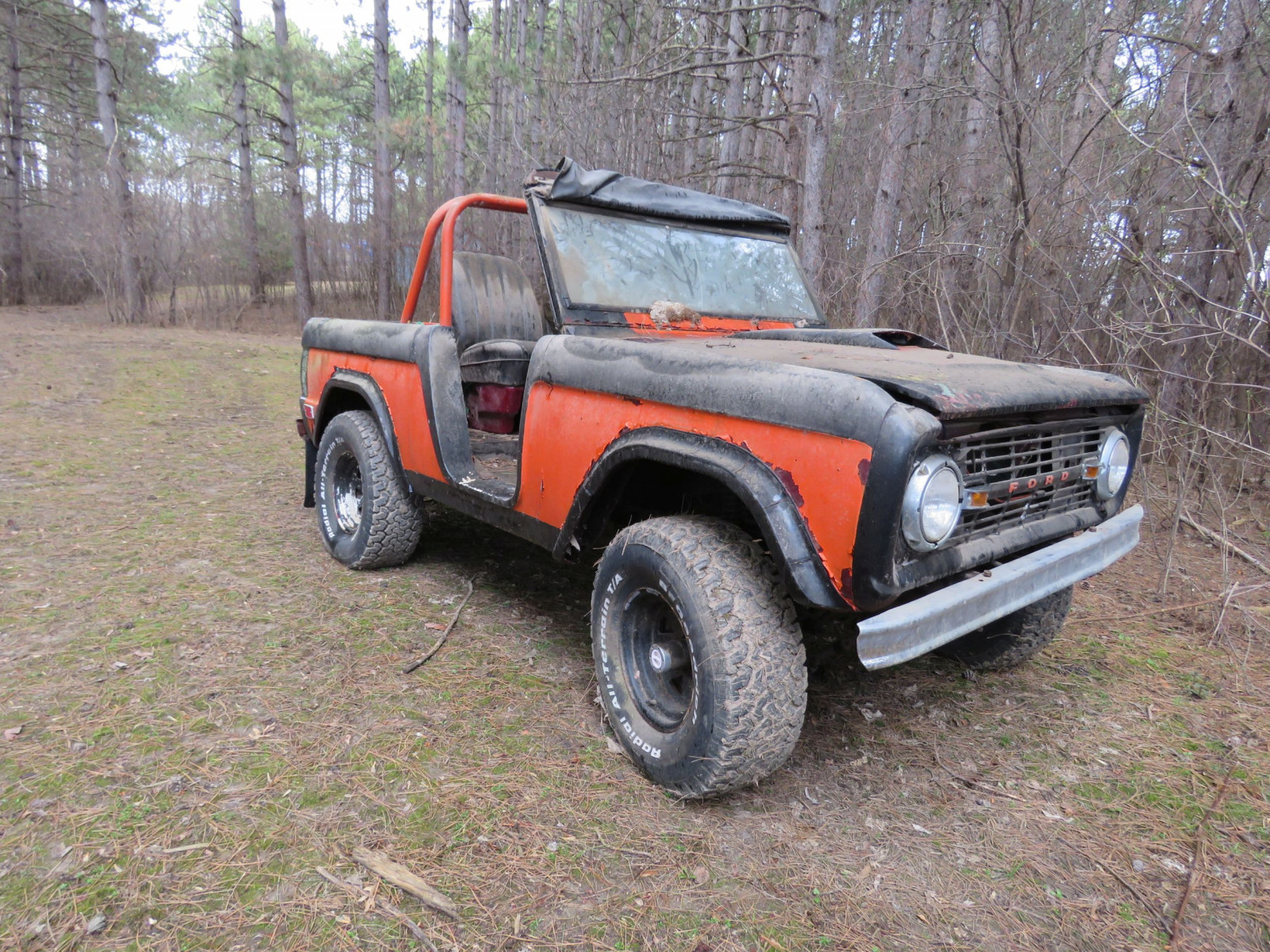 1969 Ford Bronco Project - Image 1