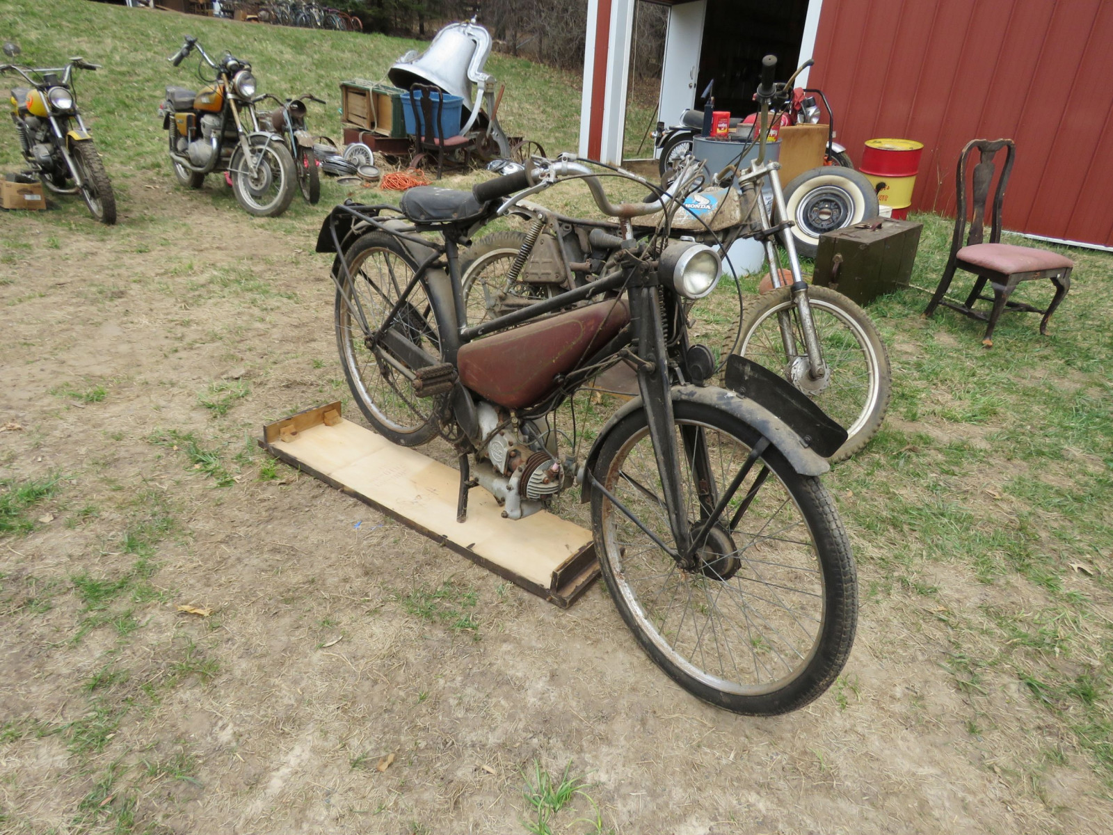 Rare Villiers Junior Motorcycle - Image 1