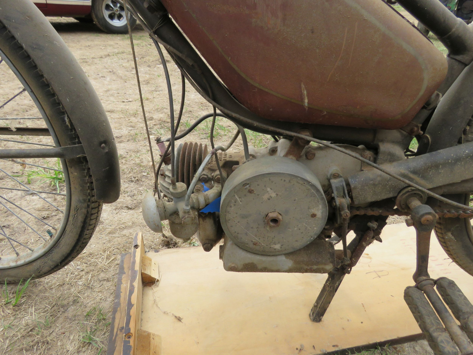 Rare Villiers Junior Motorcycle - Image 3