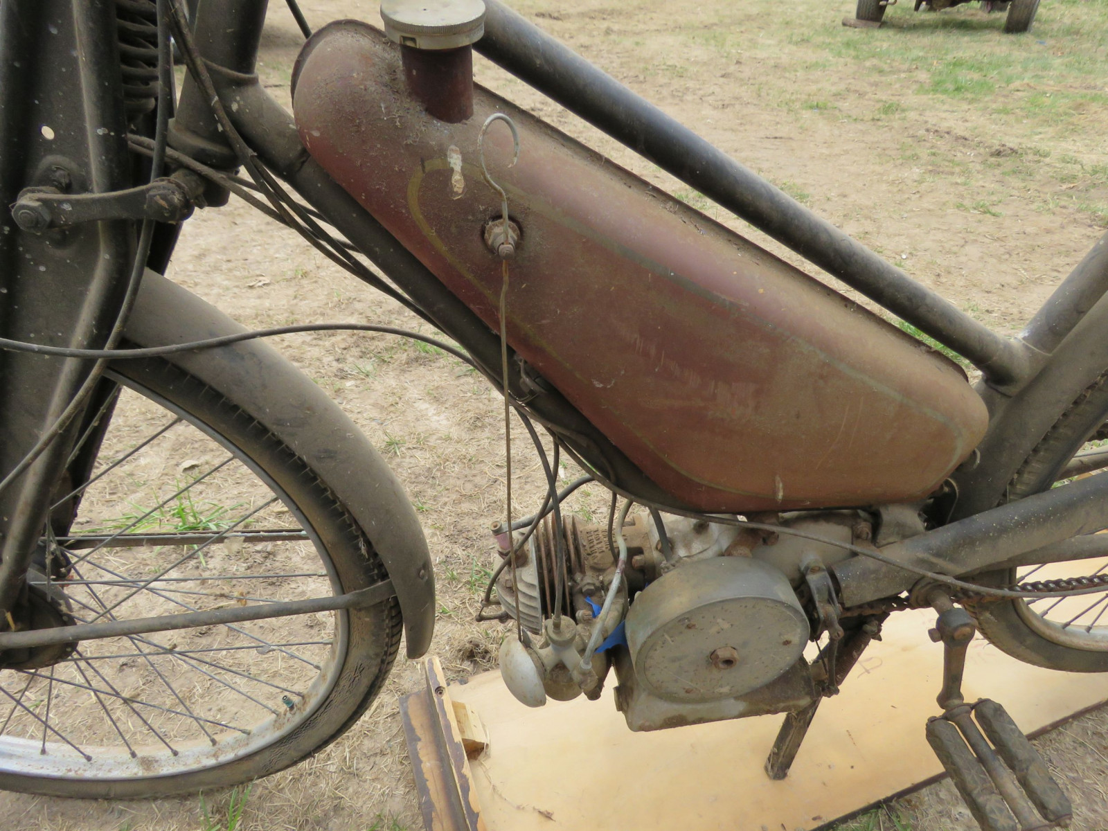 Rare Villiers Junior Motorcycle - Image 4
