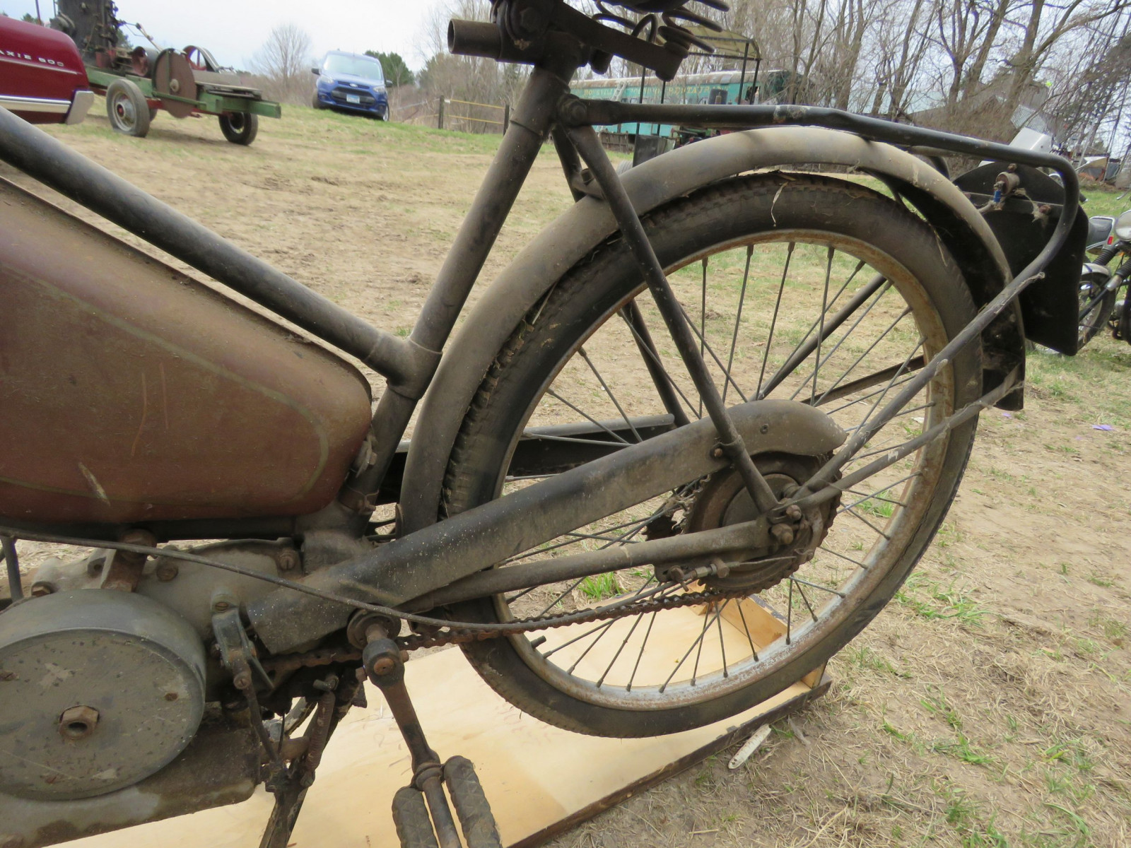 Rare Villiers Junior Motorcycle - Image 8