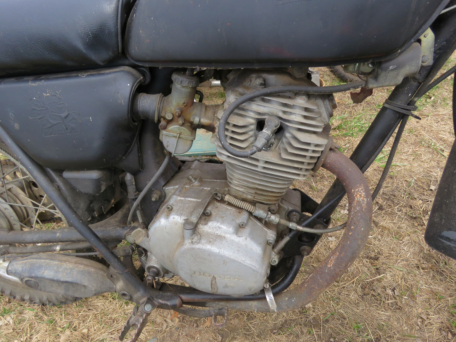 Honda 125XL Motorcycle for Project or parts - Image 2