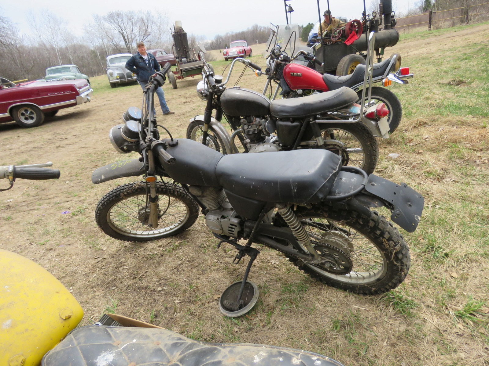 Honda 125XL Motorcycle for Project or parts - Image 4