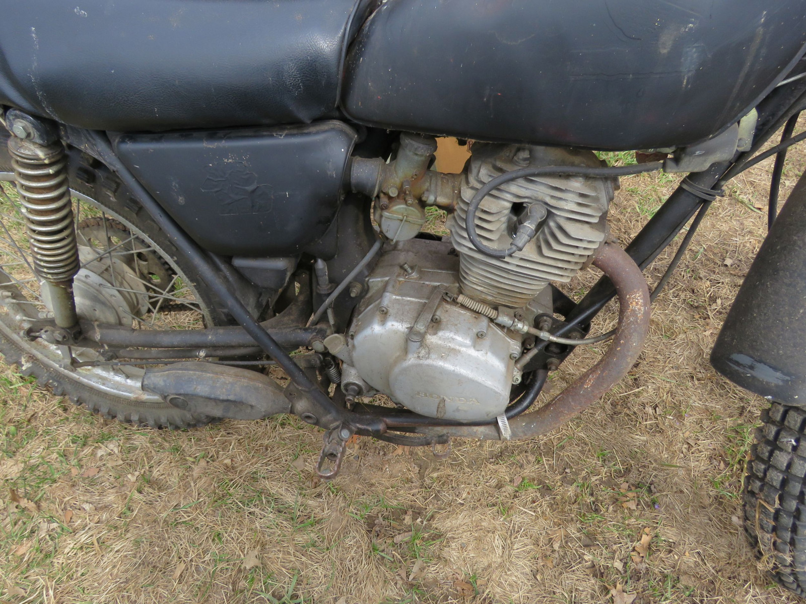 Honda 125XL Motorcycle for Project or parts - Image 6