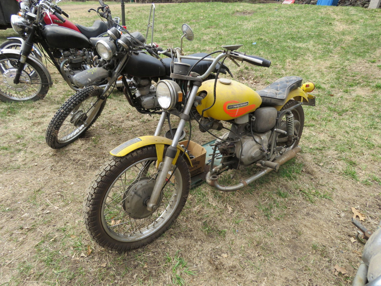 1971 Harley Davidson-AMF H2 Sprint GS350 Motorcycle for Project - Image 1