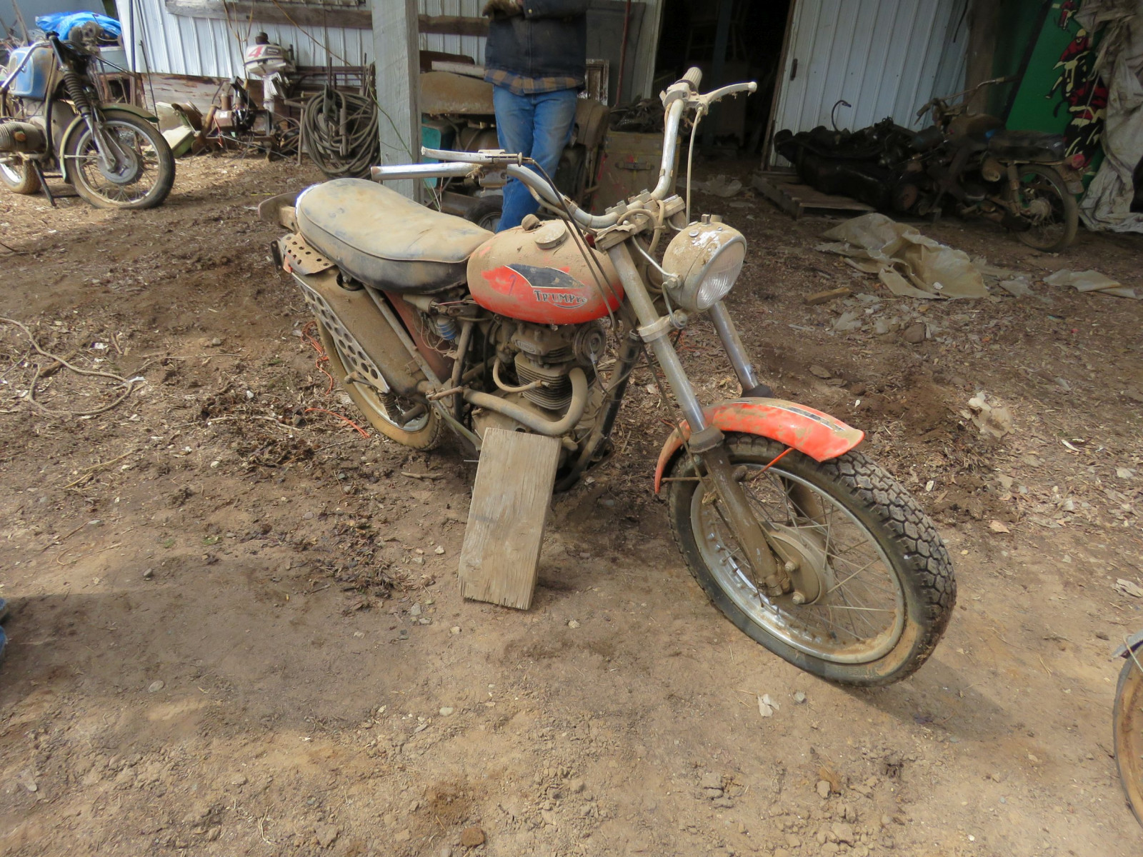 Triumph Motorcycle for parts - Image 1