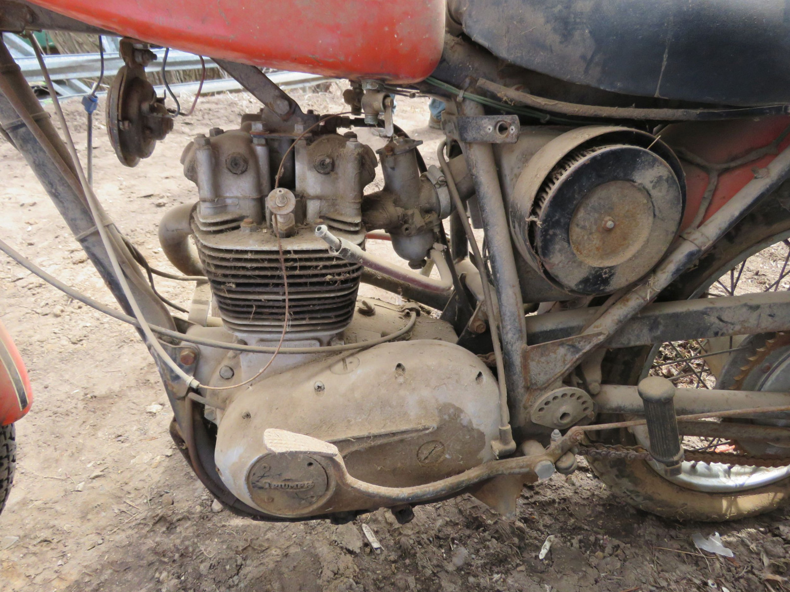 Triumph Motorcycle for parts - Image 4