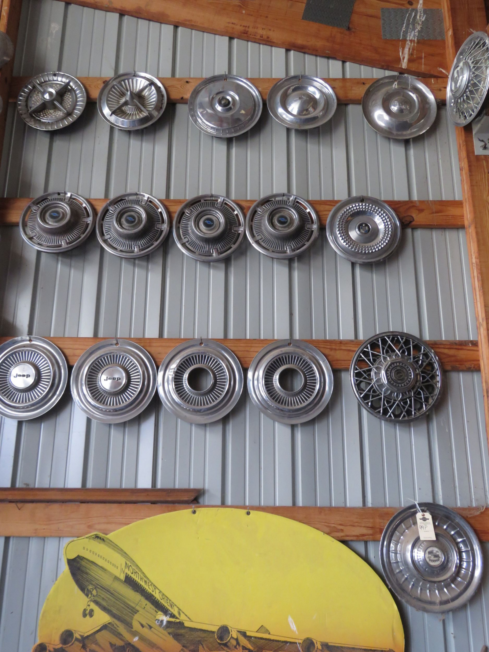 Vintage Hubcap Grouping - Image 1