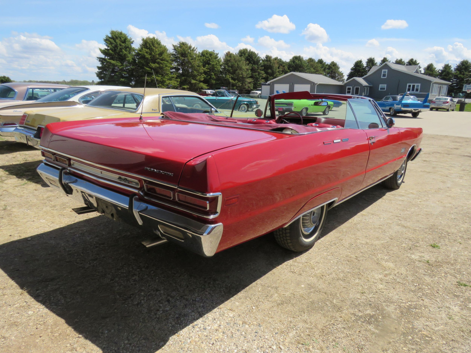 1969 Plymouth Sport Fury Convertible - Image 11
