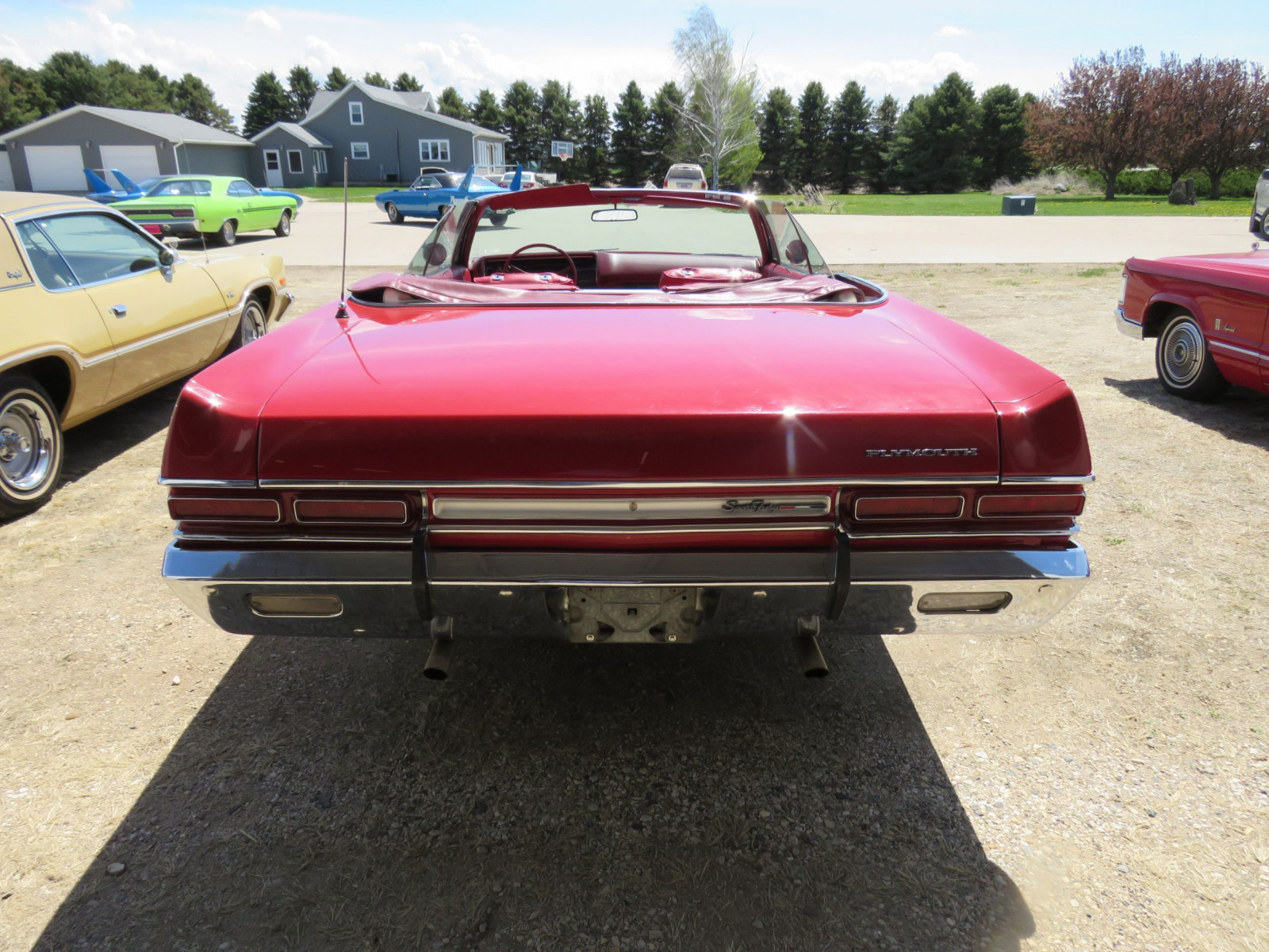 1969 Plymouth Sport Fury Convertible - Image 12