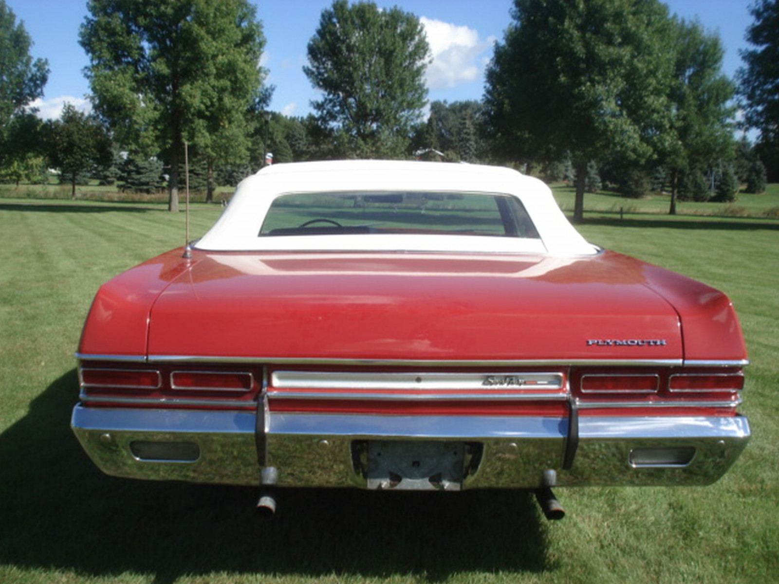 1969 Plymouth Sport Fury Convertible - Image 5