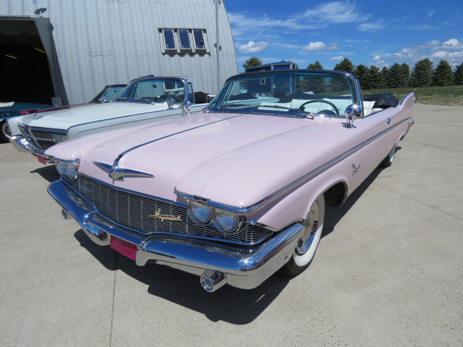 RARE 1960 Chrysler Imperial Crown Convertible - Image 1