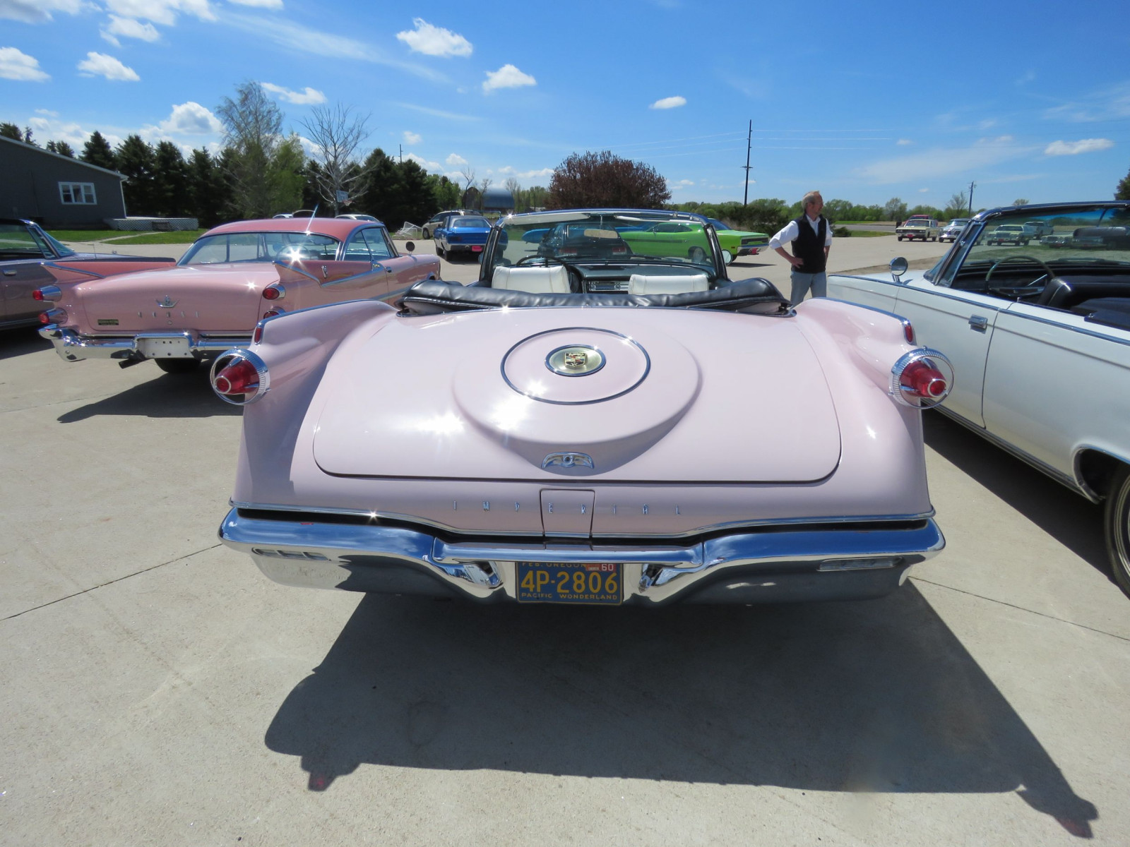 RARE 1960 Chrysler Imperial Crown Convertible - Image 7