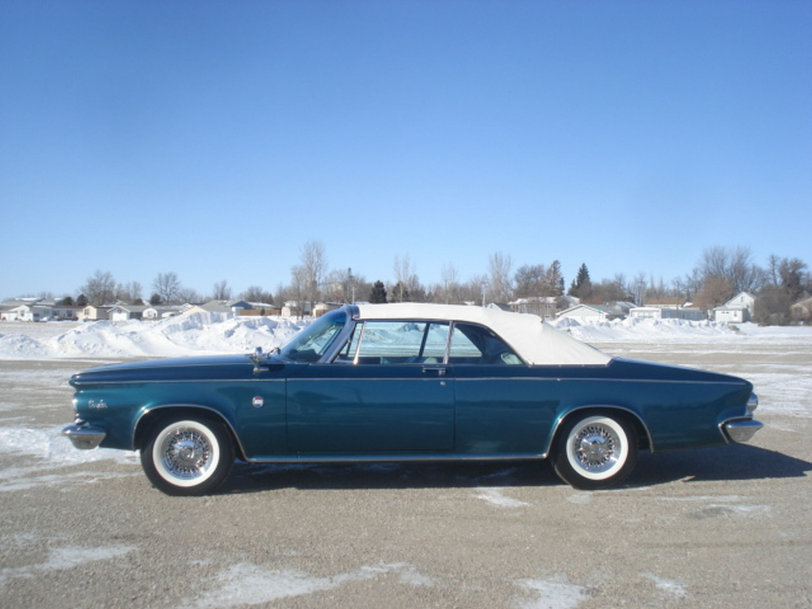 RARE 1963 Chrysler 300 Pace Setter Convertible Indy 500 Pace car - Image 13