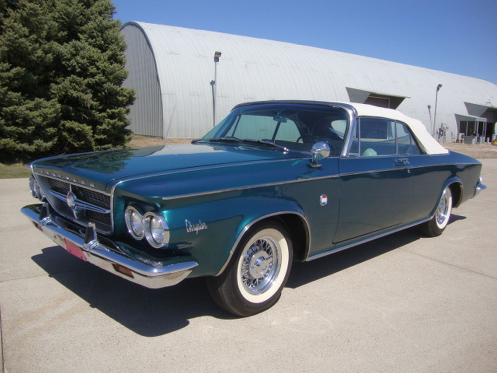 RARE 1963 Chrysler 300 Pace Setter Convertible Indy 500 Pace car - Image 14