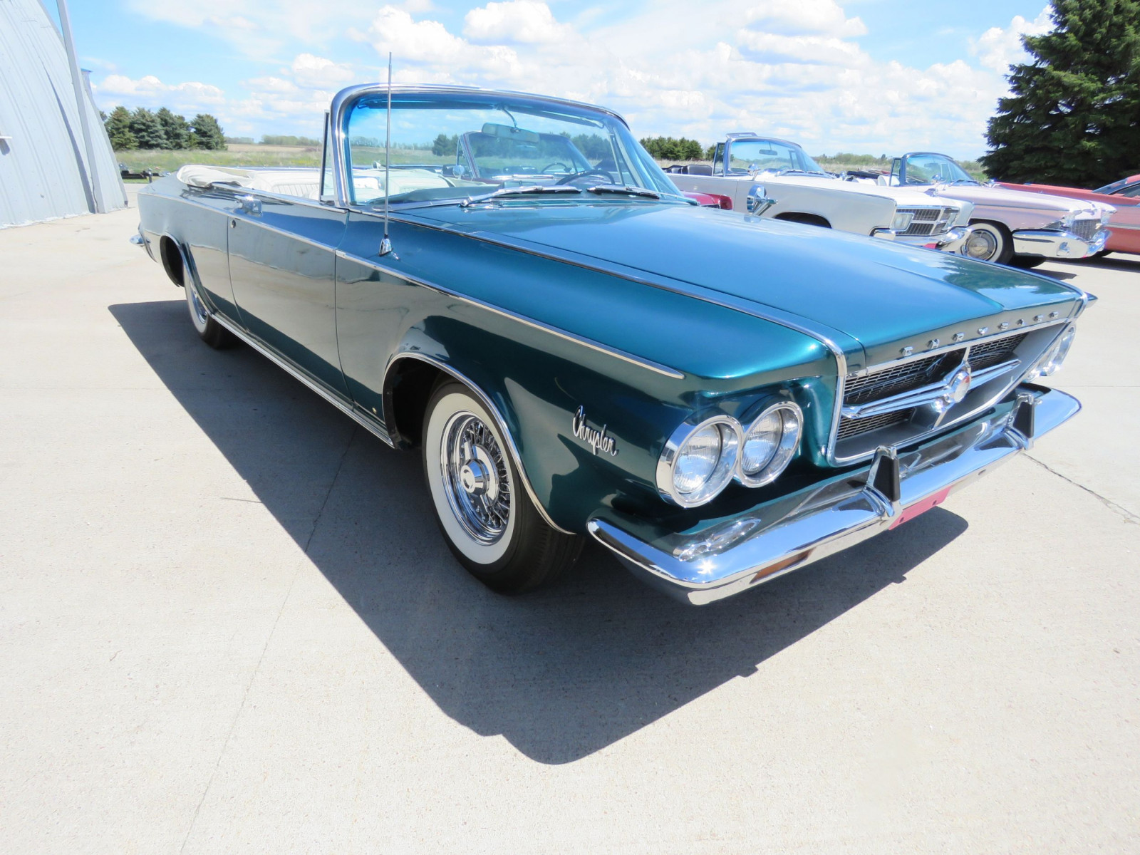 RARE 1963 Chrysler 300 Pace Setter Convertible Indy 500 Pace car - Image 3