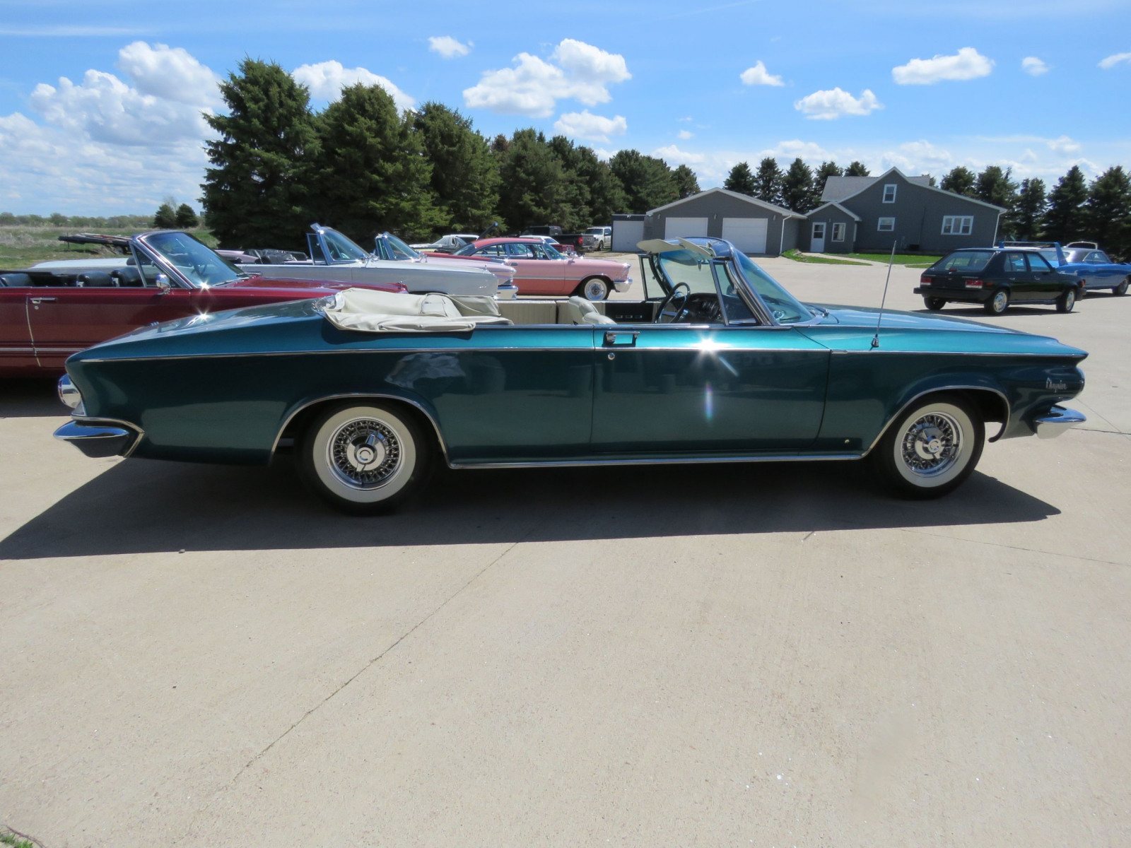 RARE 1963 Chrysler 300 Pace Setter Convertible Indy 500 Pace car - Image 5