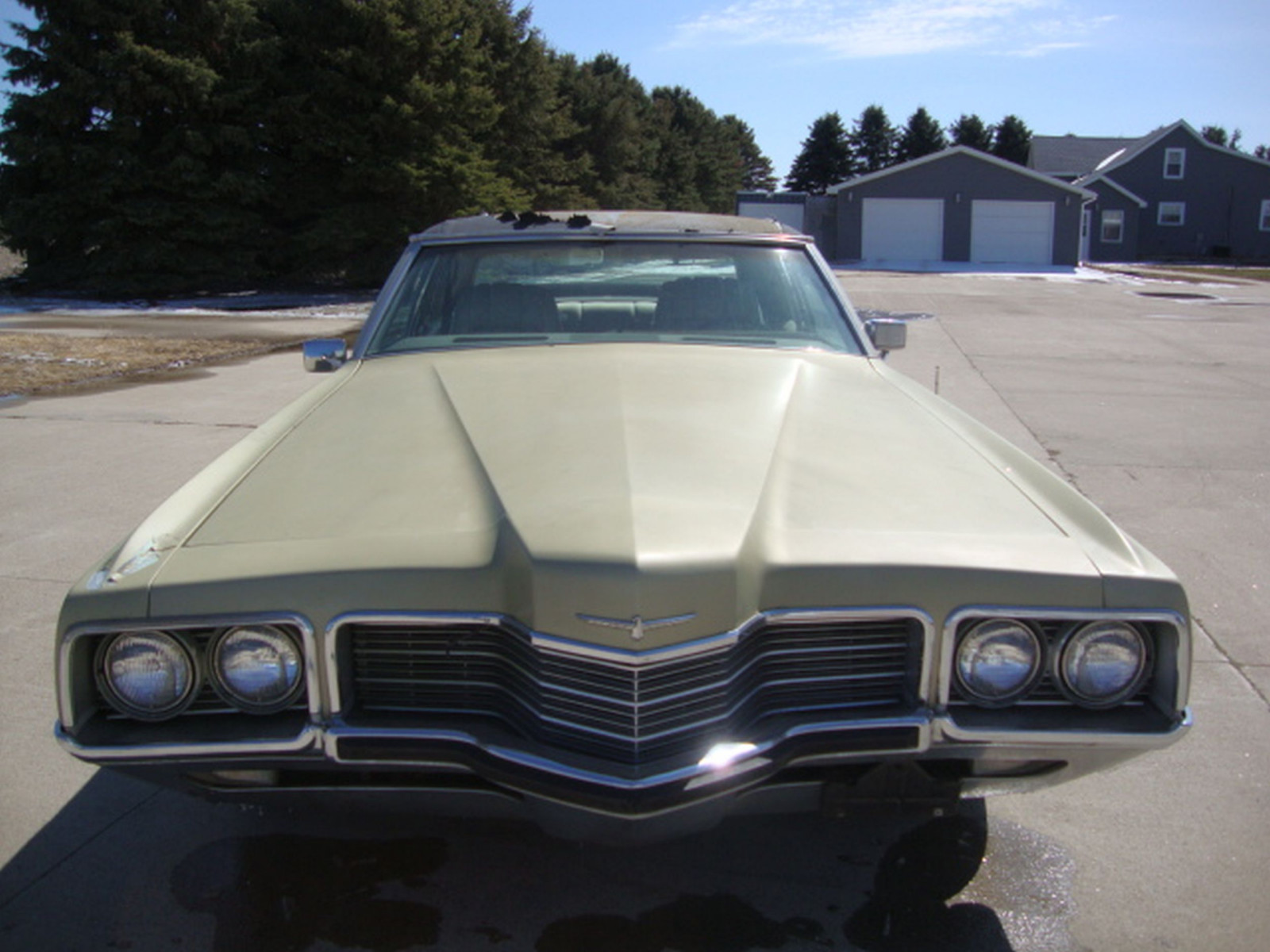 1971 Ford Thunderbird 4dr Sedan - Image 2
