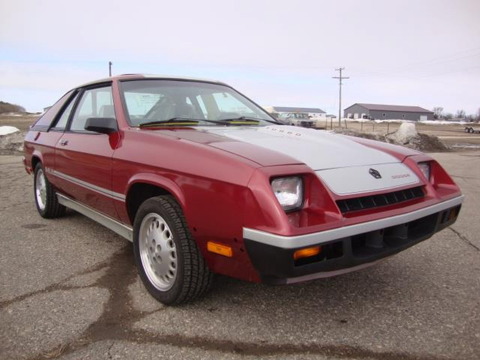 New 1987 Dodge Shelby Charger - Image 3