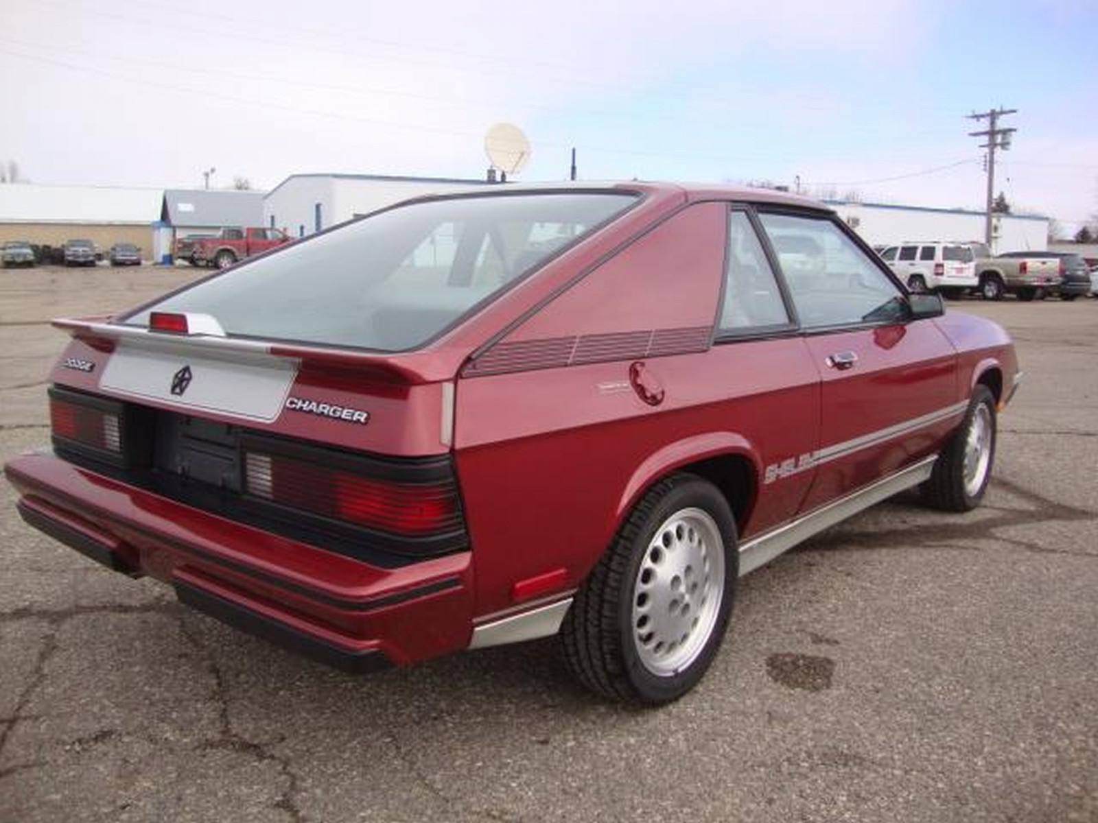 New 1987 Dodge Shelby Charger - Image 7