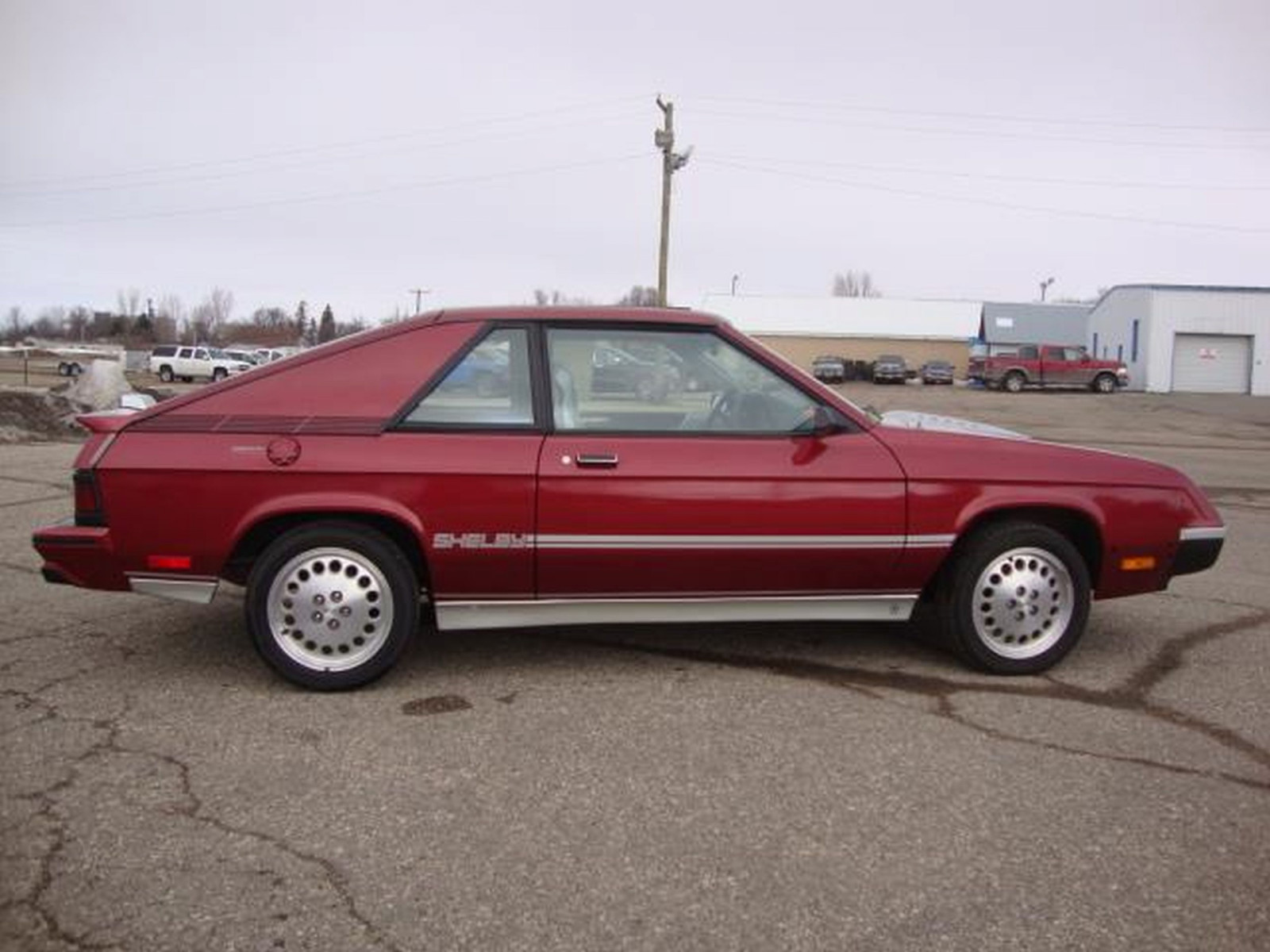 New 1987 Dodge Shelby Charger - Image 8