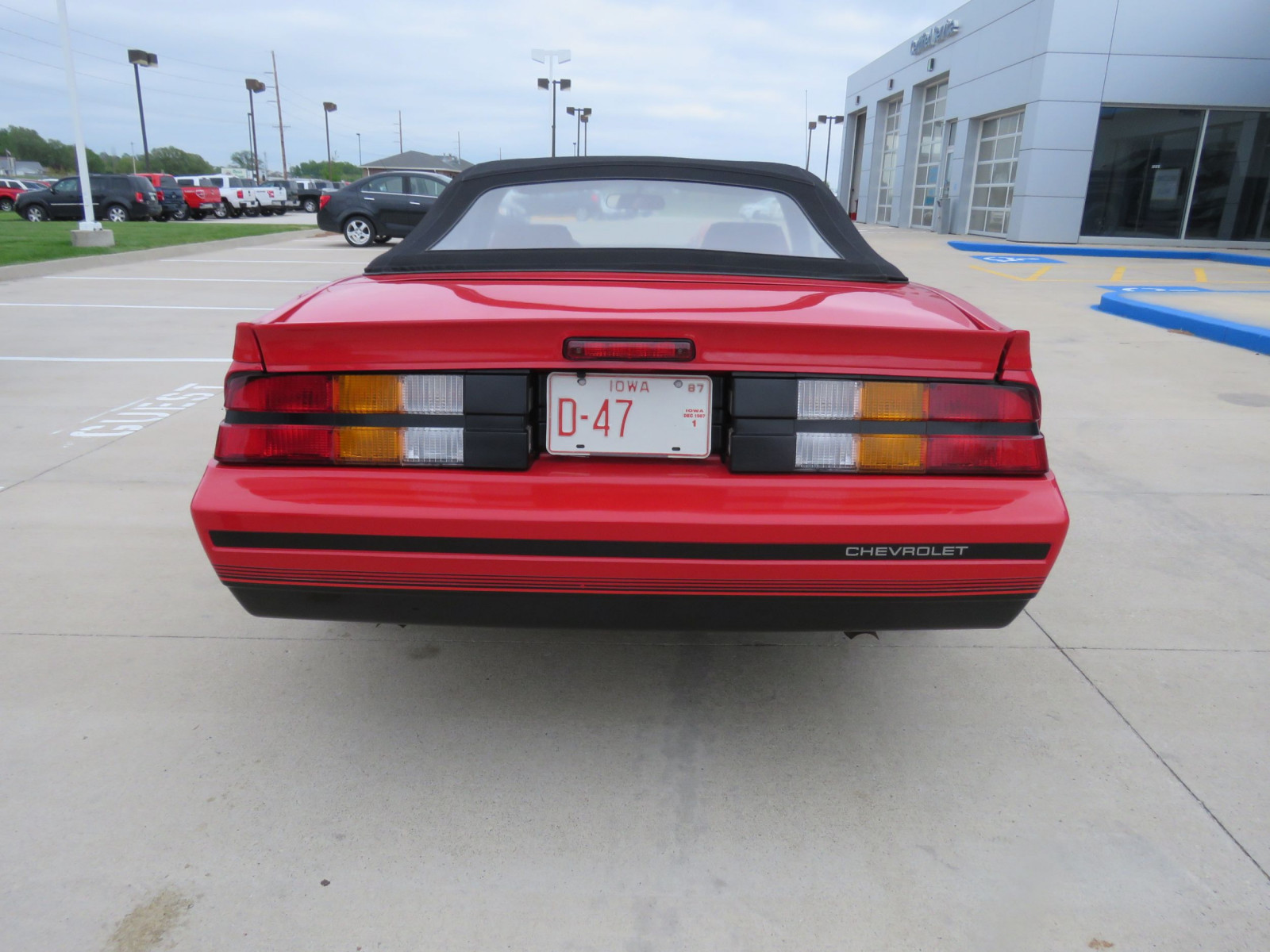 1987 Chevrolet Camaro RS Convertible - Image 12