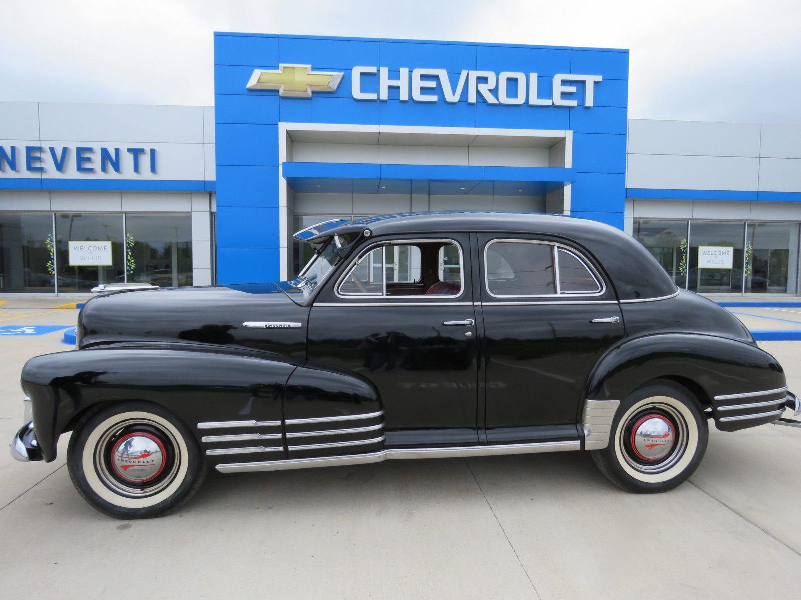 1947 Chevrolet Fleetline 4dr Sedan - Image 1