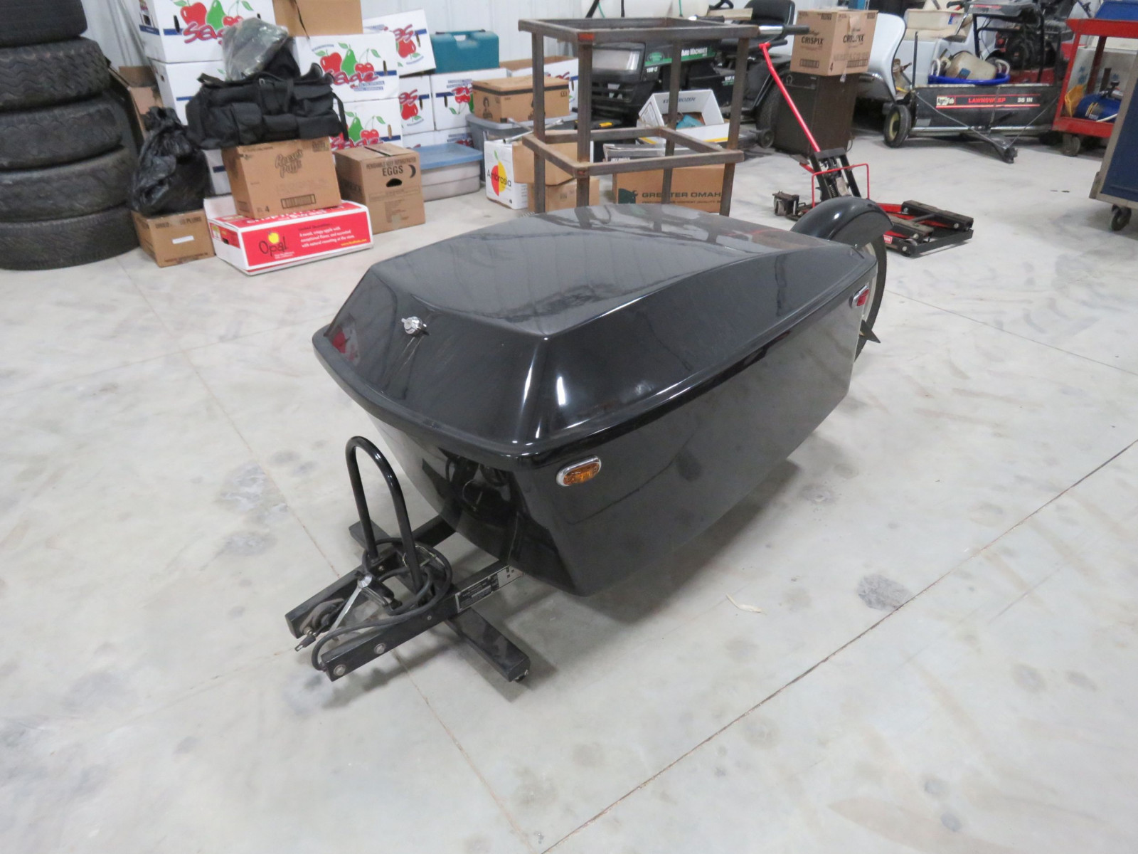 2009 Nline Motorcycle Trailer - Image 1