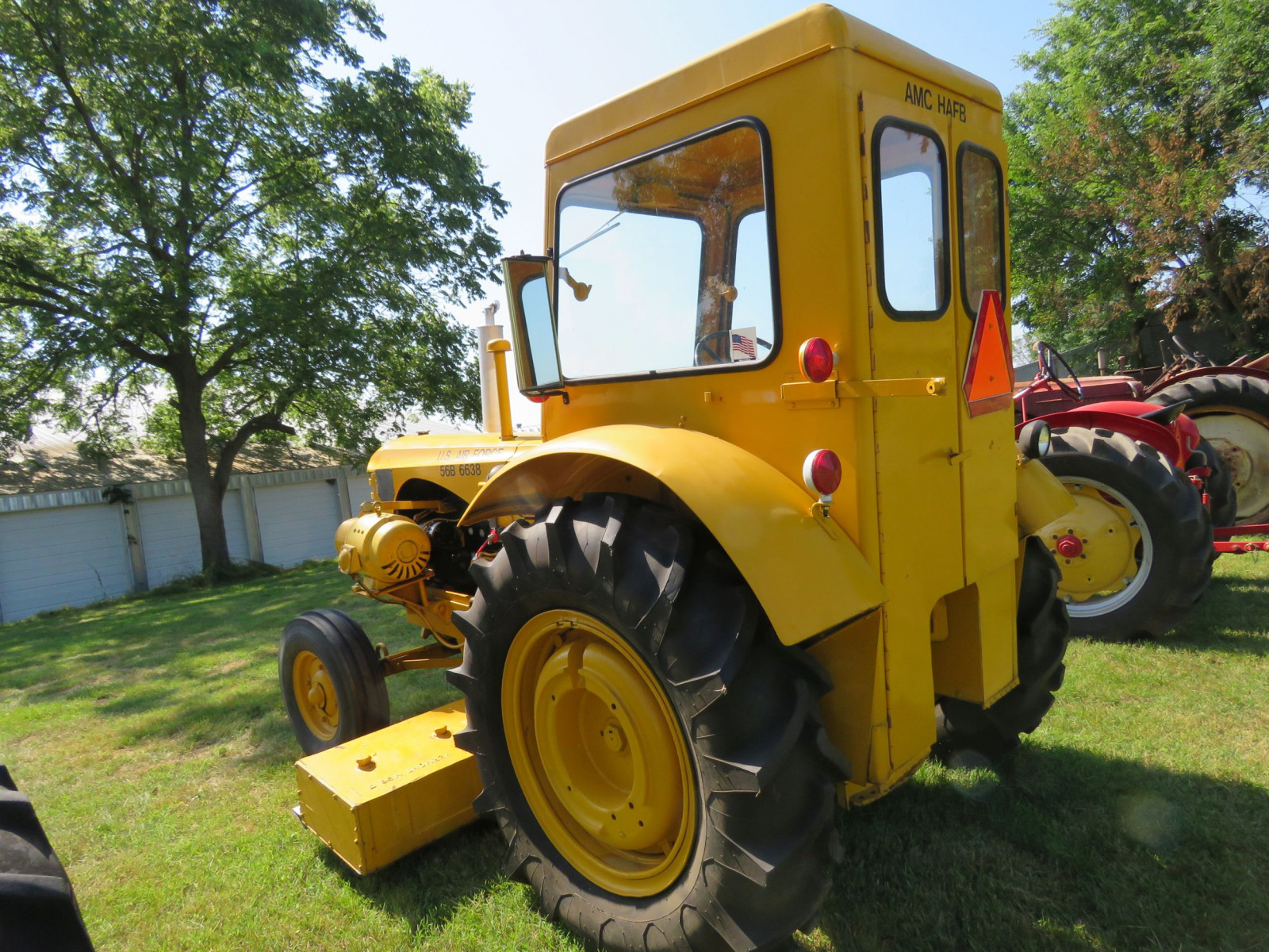 1956 Massey Harris 333 Tractor with Sabre Magnetic Sweeper - Image 11