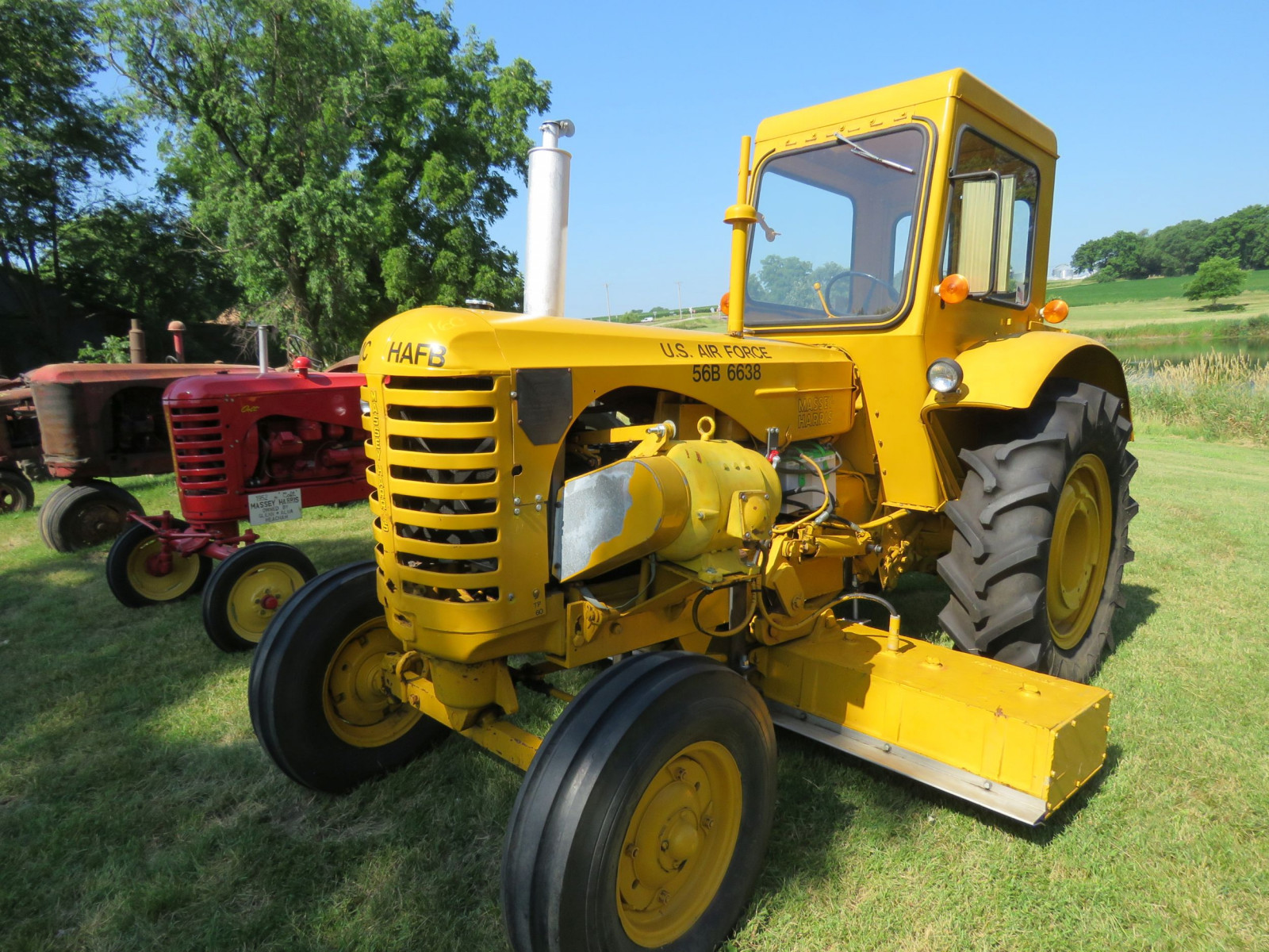 1956 Massey Harris 333 Tractor with Sabre Magnetic Sweeper - Image 13