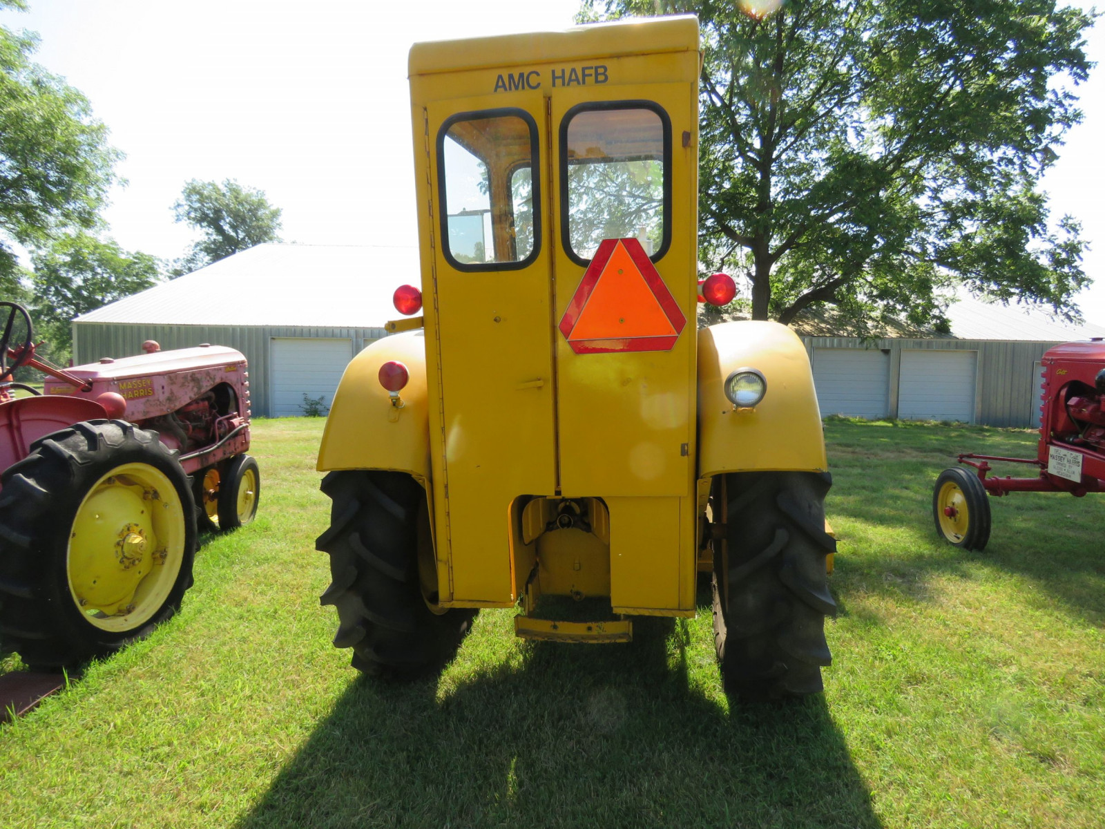 1956 Massey Harris 333 Tractor with Sabre Magnetic Sweeper - Image 7