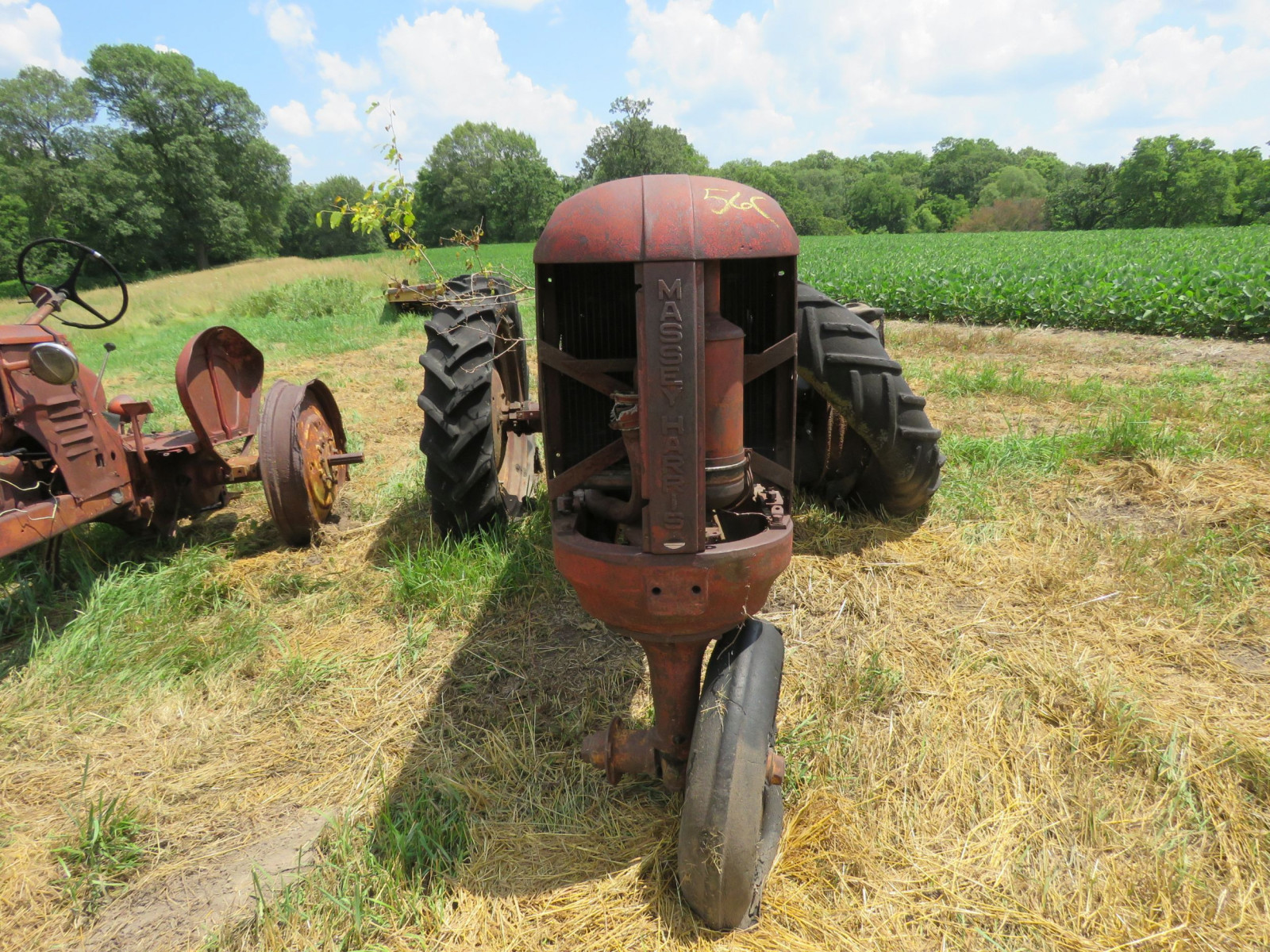 Massey Harris Tractor for Project or Parts - Image 2