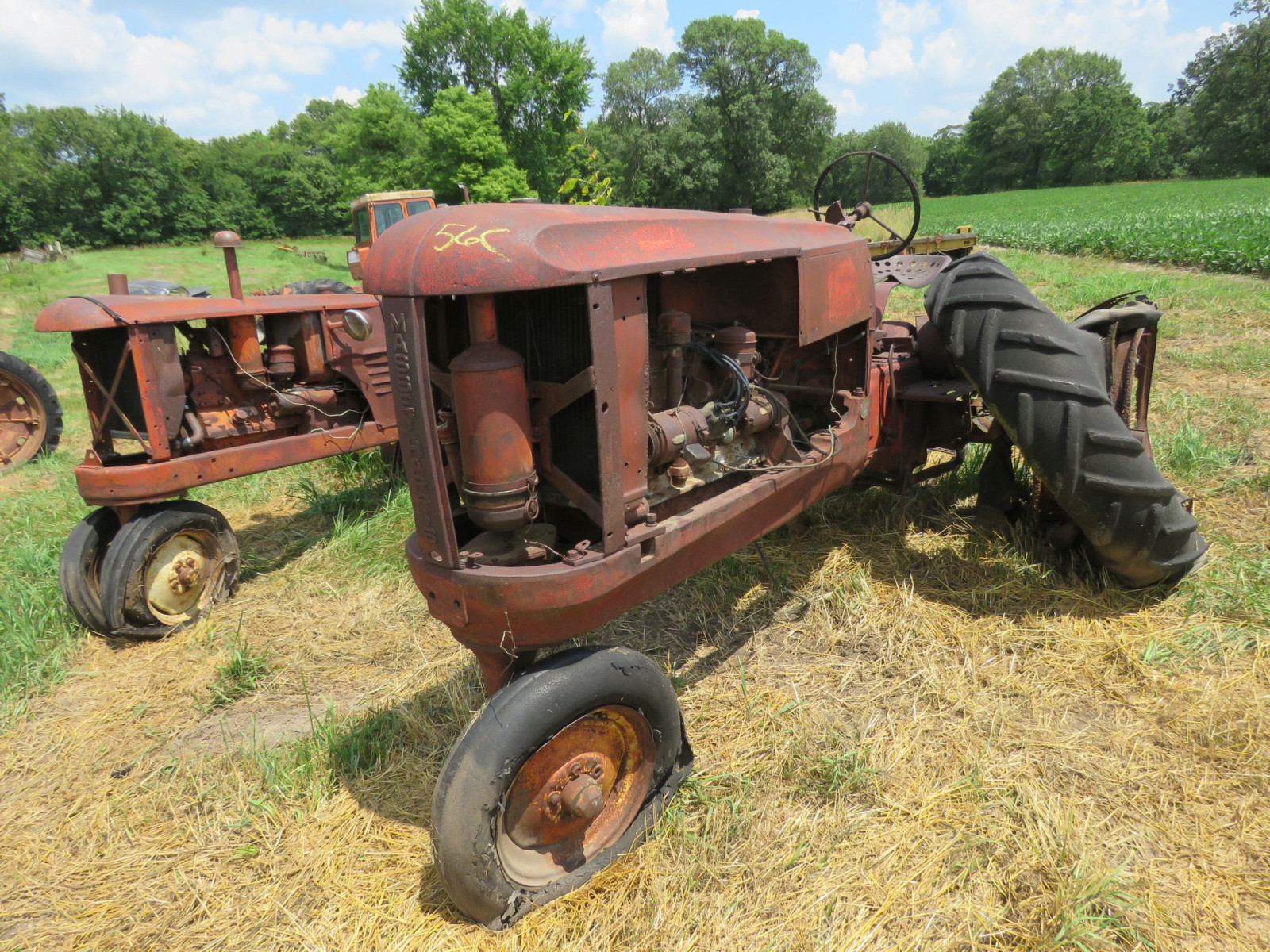 Massey Harris Tractor for Project or Parts - Image 6