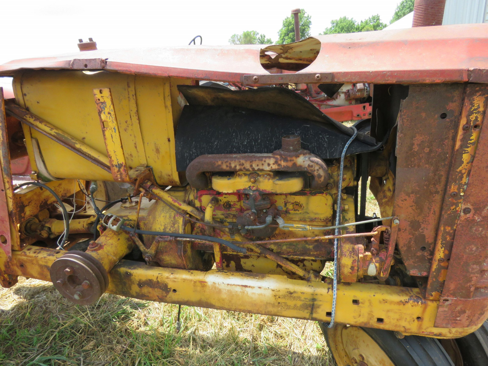Massey Harris Tractor for Project or Parts - Image 3