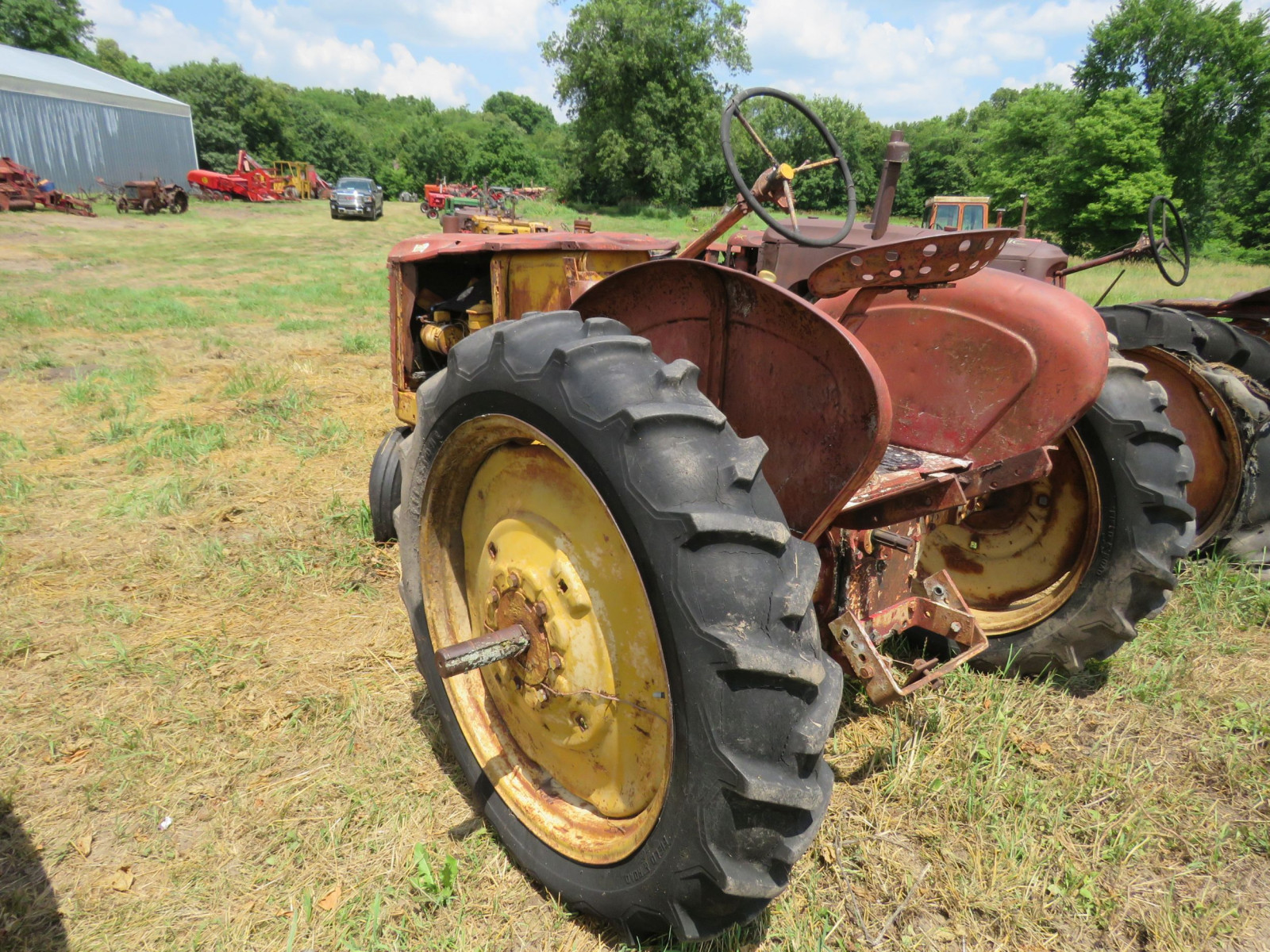 Massey Harris Tractor for Project or Parts - Image 5