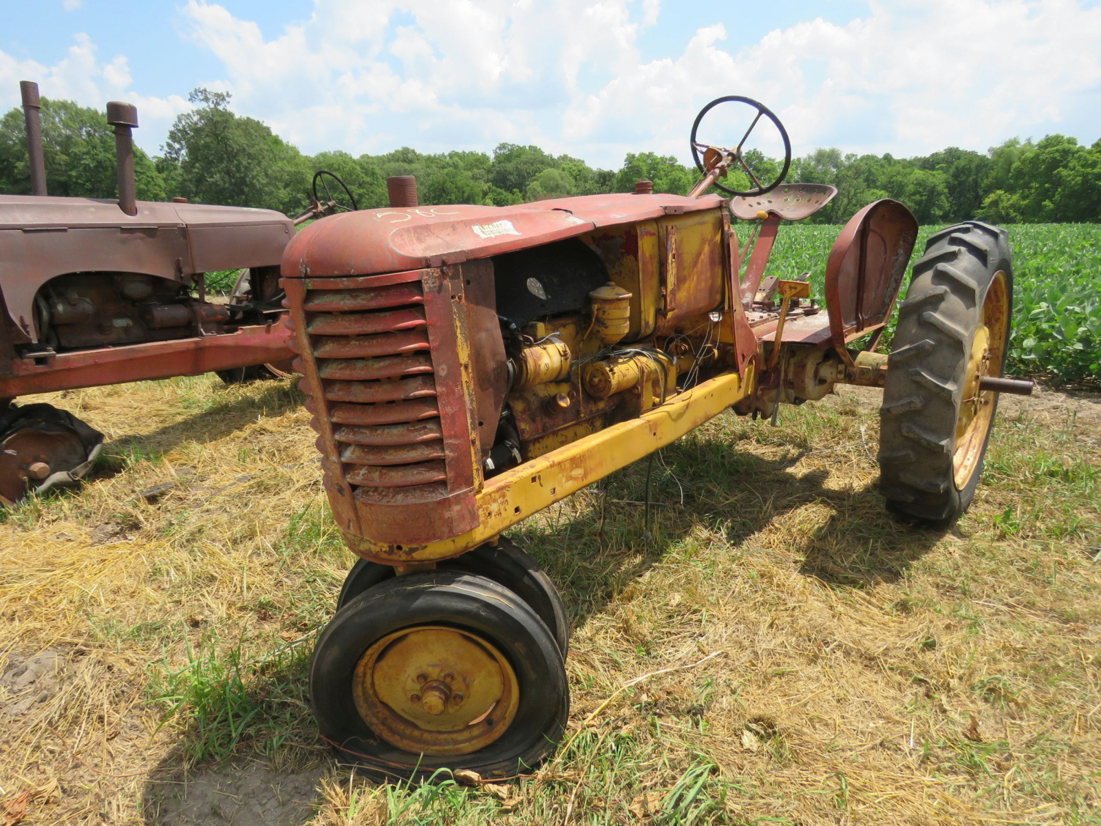 Massey Harris Tractor for Project or Parts - Image 7