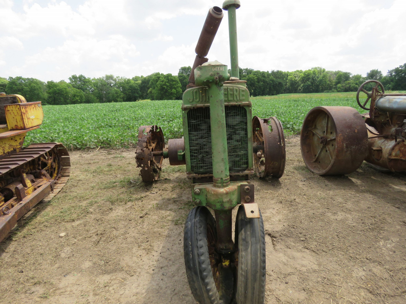 1936 John Deere Unstyled A Tractor - Image 2