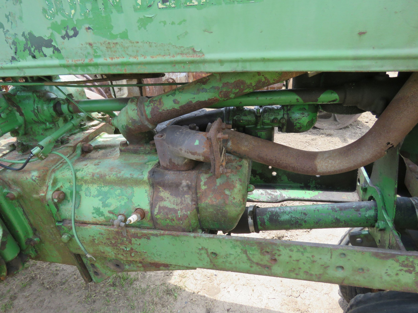 1936 John Deere Unstyled A Tractor - Image 3