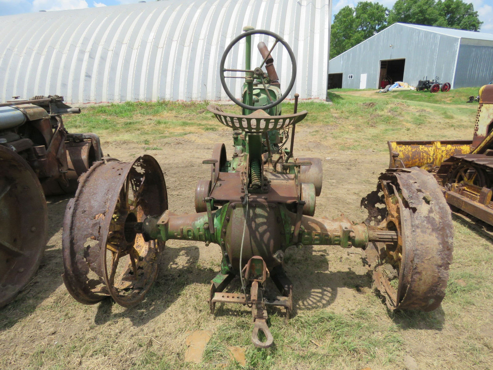 1936 John Deere Unstyled A Tractor - Image 4