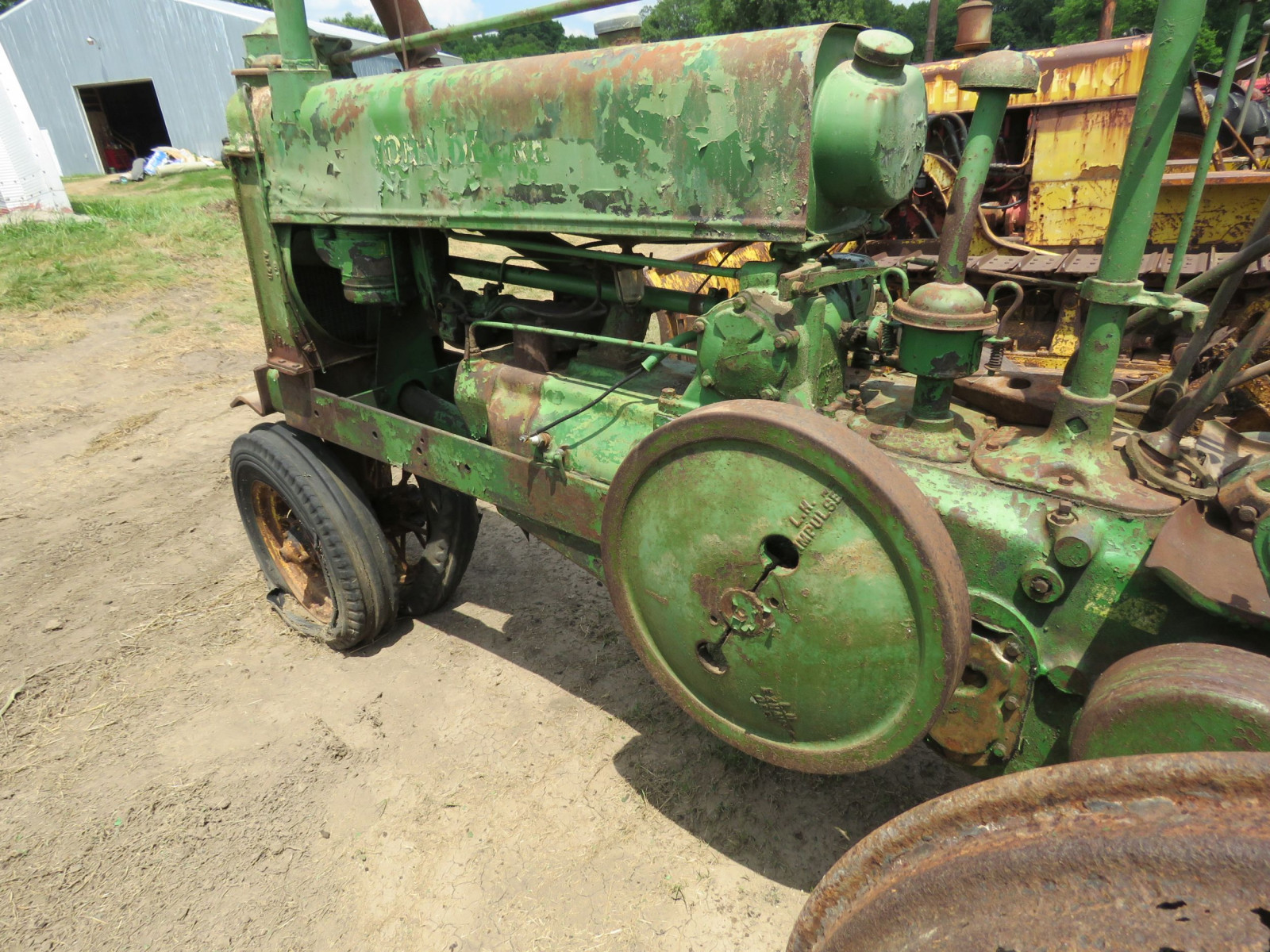 1936 John Deere Unstyled A Tractor - Image 5
